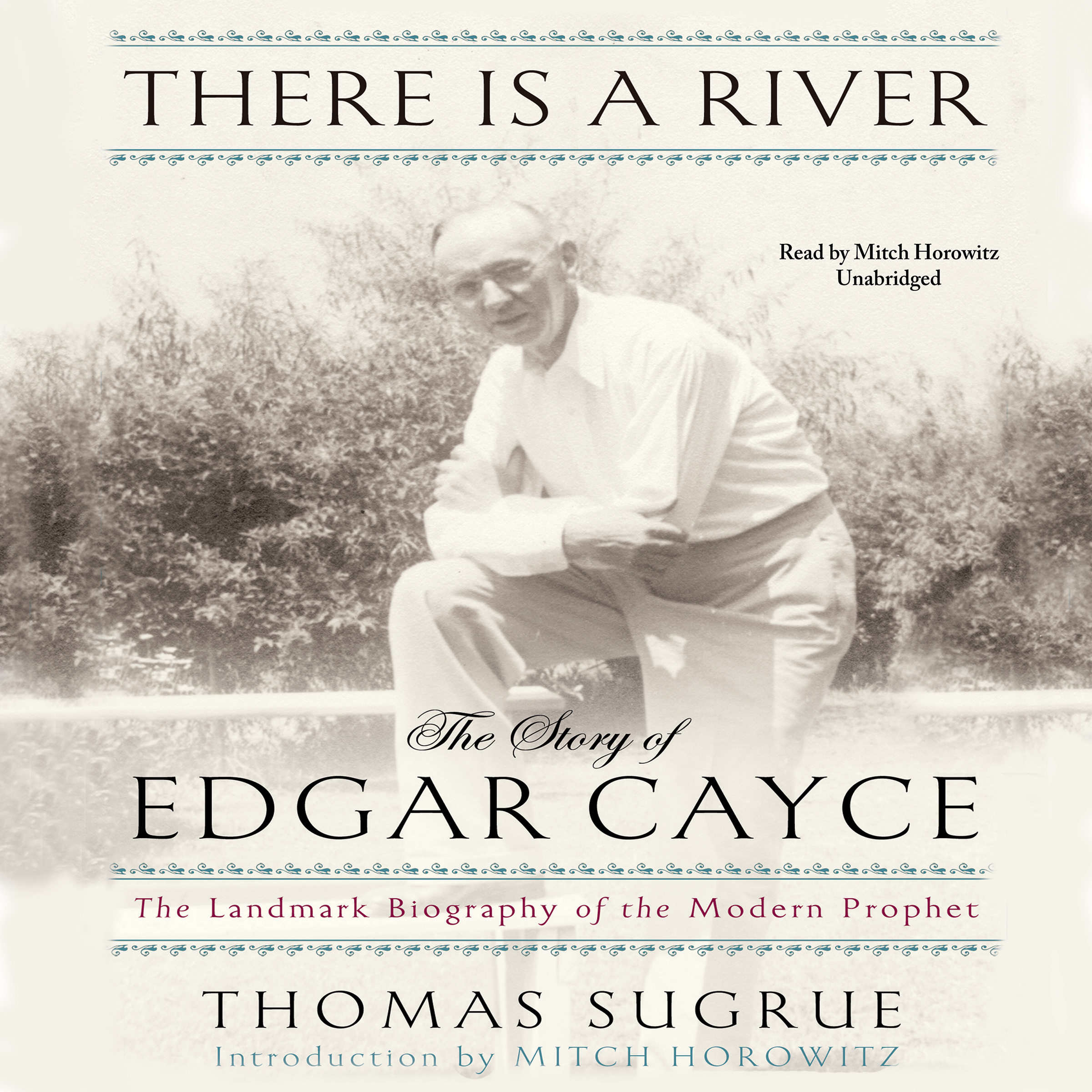 Printable There Is a River: The Story of Edgar Cayce Audiobook Cover Art