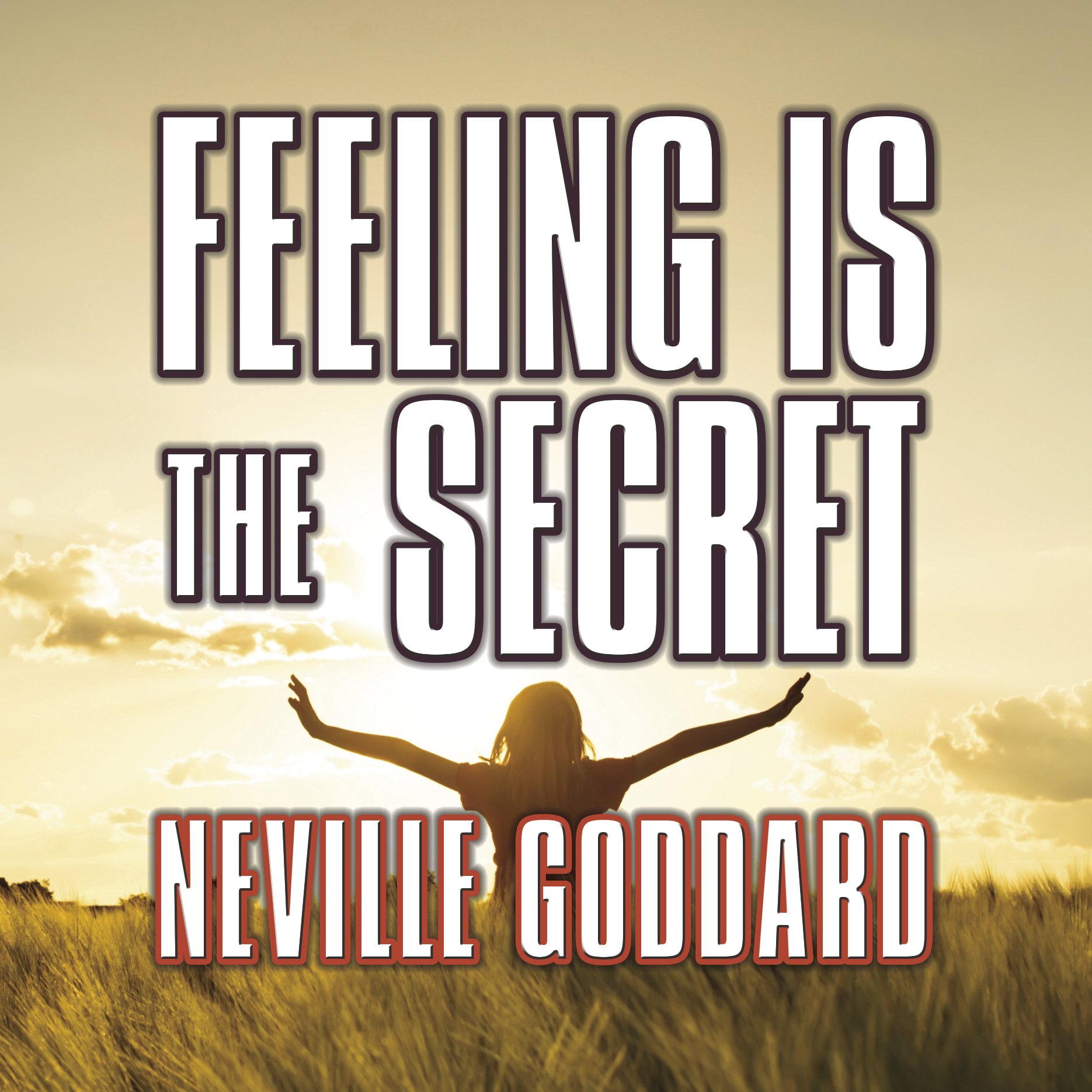 Printable Feeling is the Secret Audiobook Cover Art