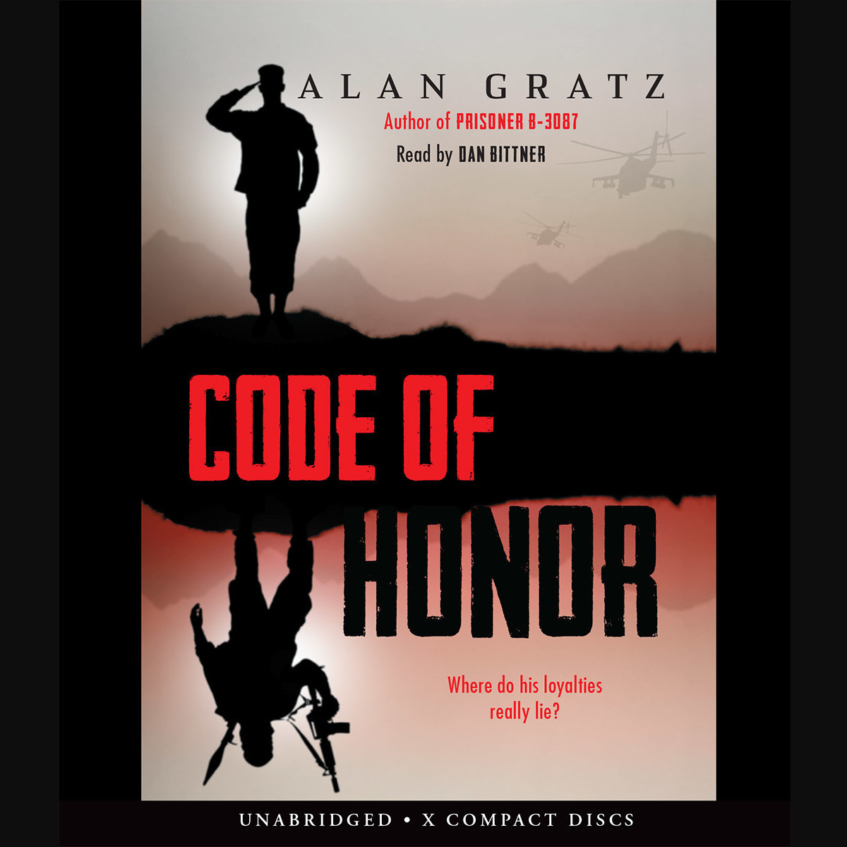 Printable Code of Honor Audiobook Cover Art