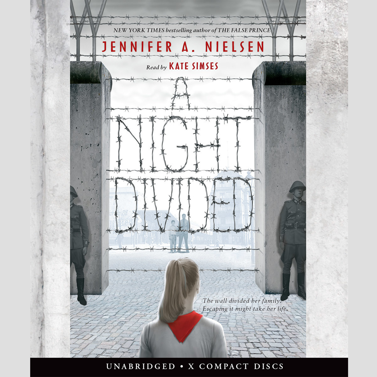 Printable A Night Divided Audiobook Cover Art