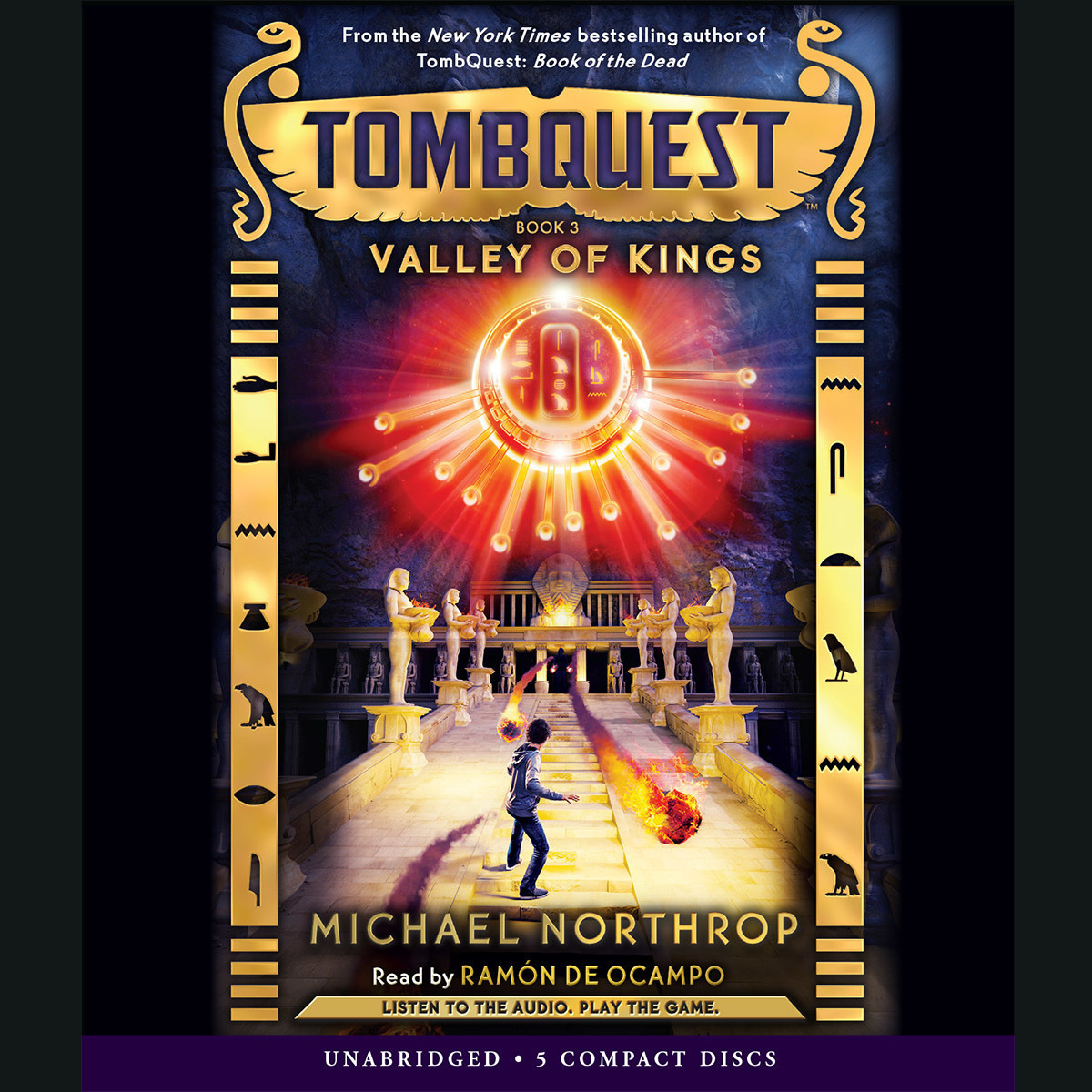Printable Valley of Kings Audiobook Cover Art