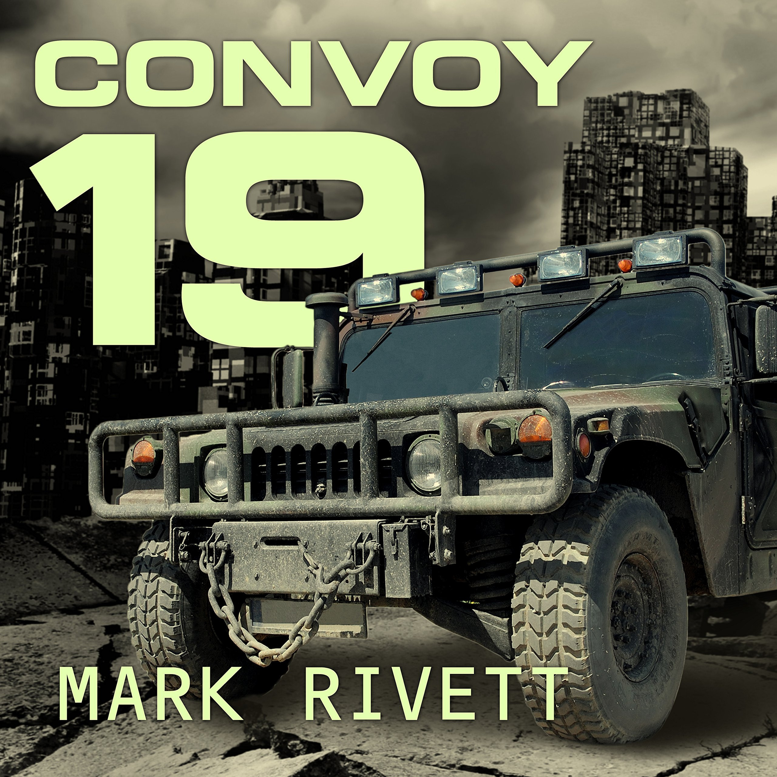 Printable Convoy 19: A Zombie Novel Audiobook Cover Art