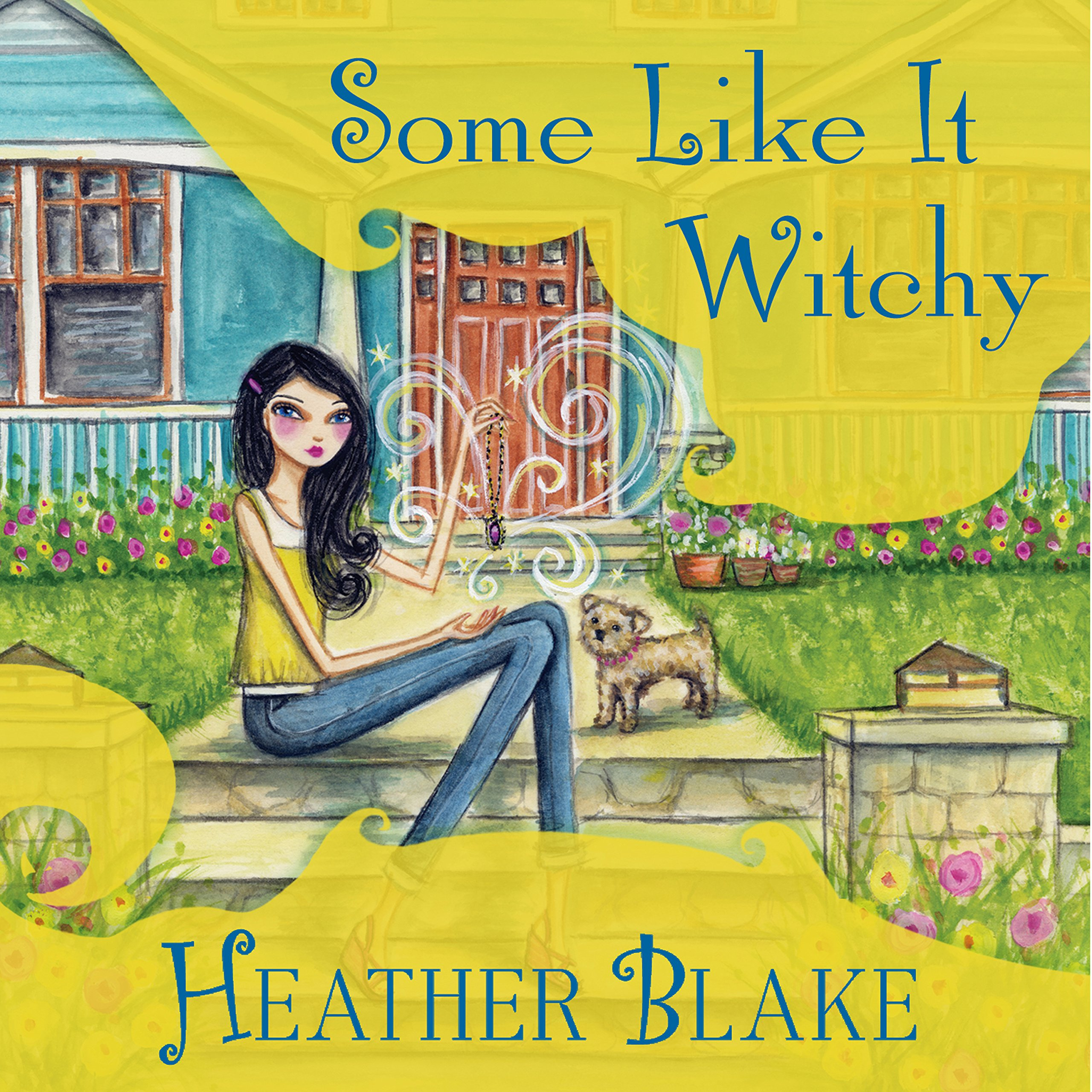 Printable Some Like It Witchy: A Wishcraft Mystery Audiobook Cover Art