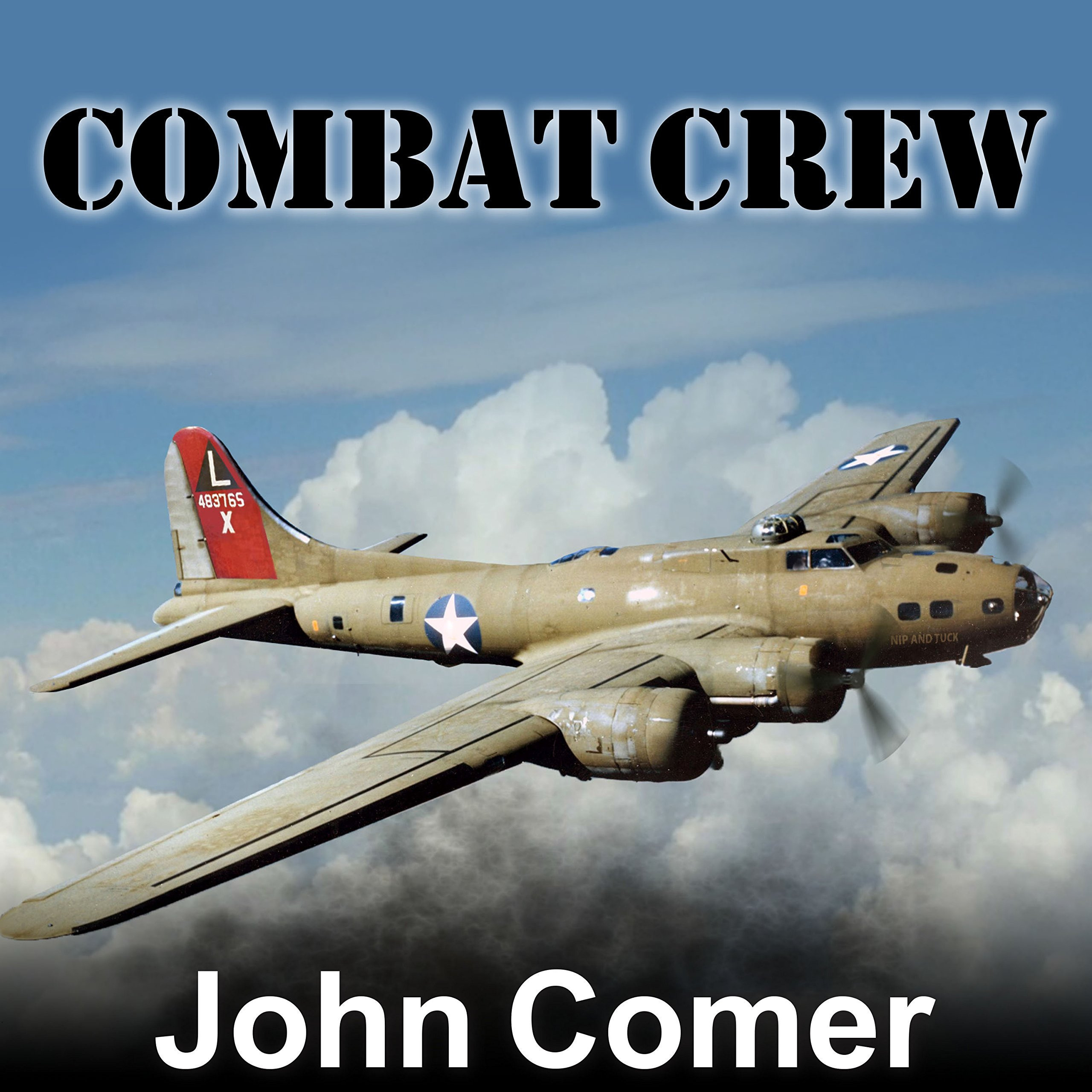 Printable Combat Crew: The Story of 25 Combat Missions Over Europe From the Daily Journal of a B-17 Gunner Audiobook Cover Art