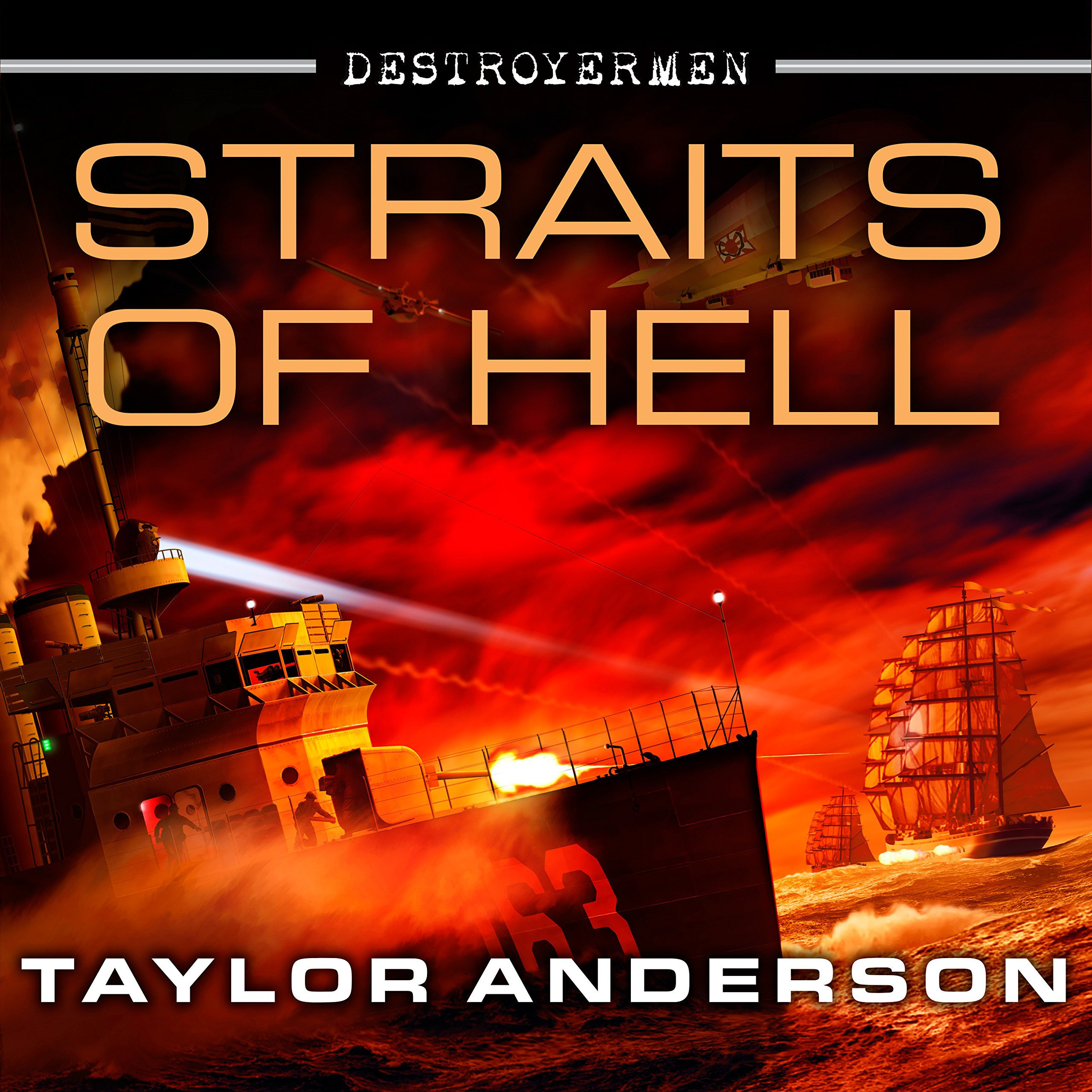 Printable Straits of Hell Audiobook Cover Art