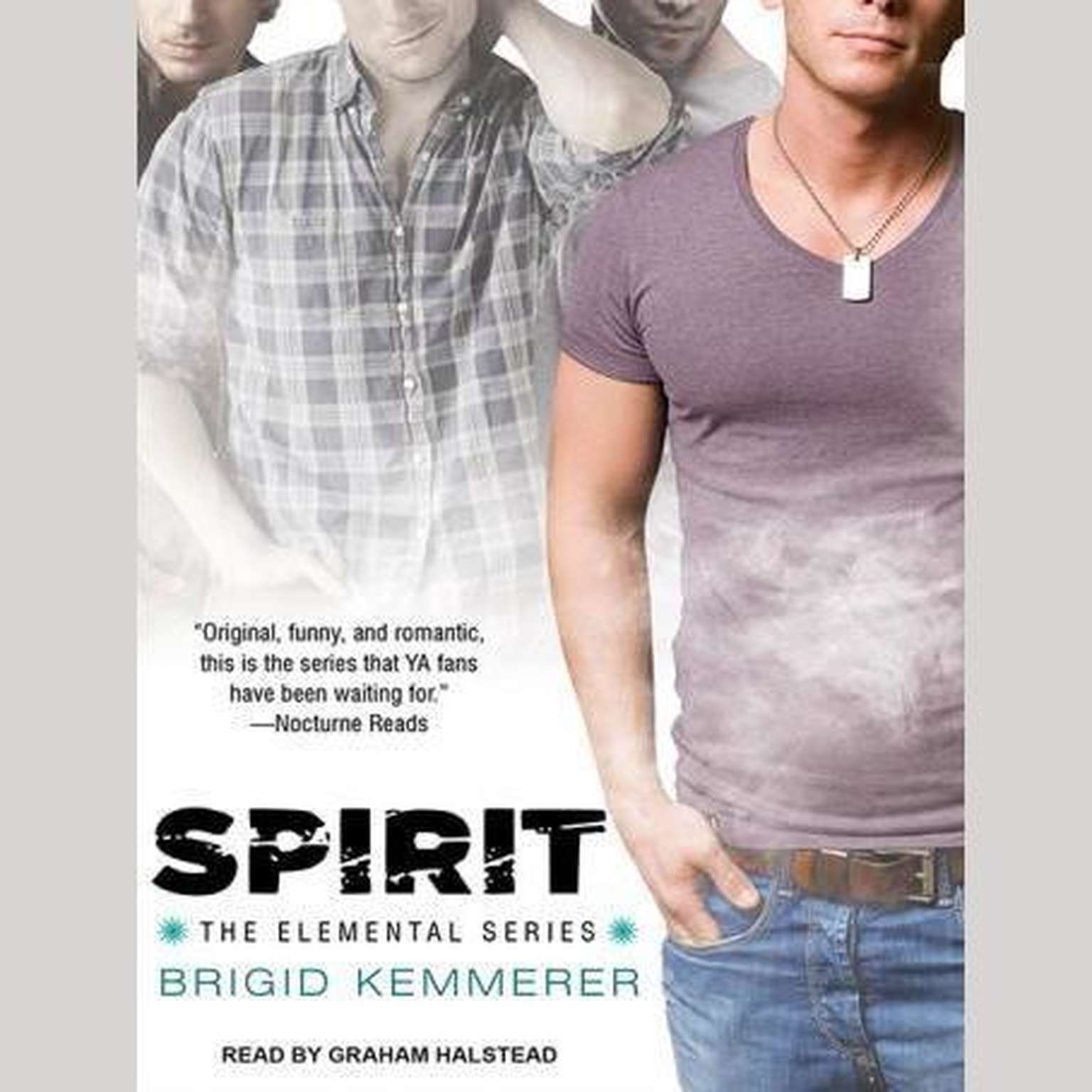 Printable Spirit Audiobook Cover Art