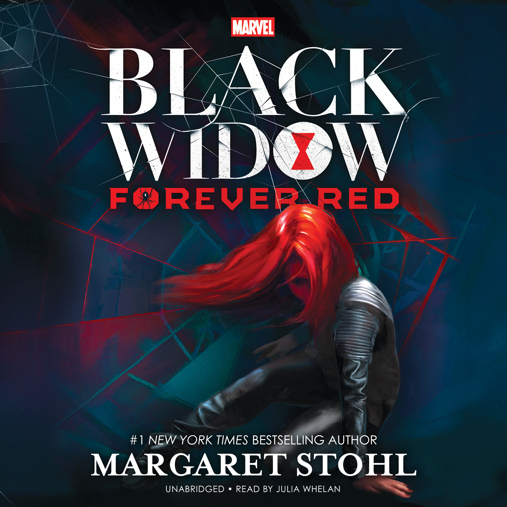 Printable Marvel's Black Widow: Forever Red Audiobook Cover Art