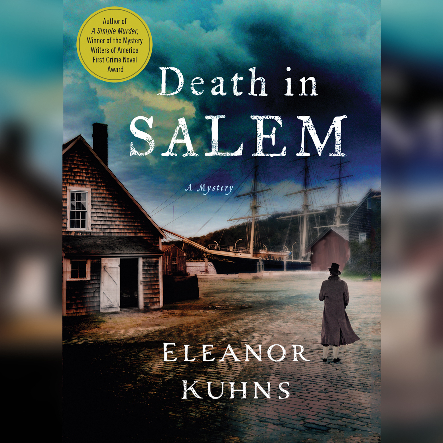 Printable Death in Salem Audiobook Cover Art
