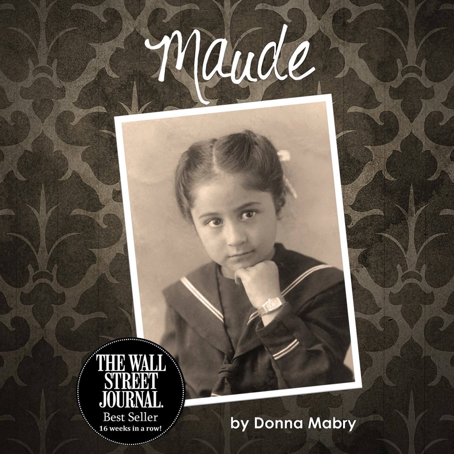 Printable Maude Audiobook Cover Art