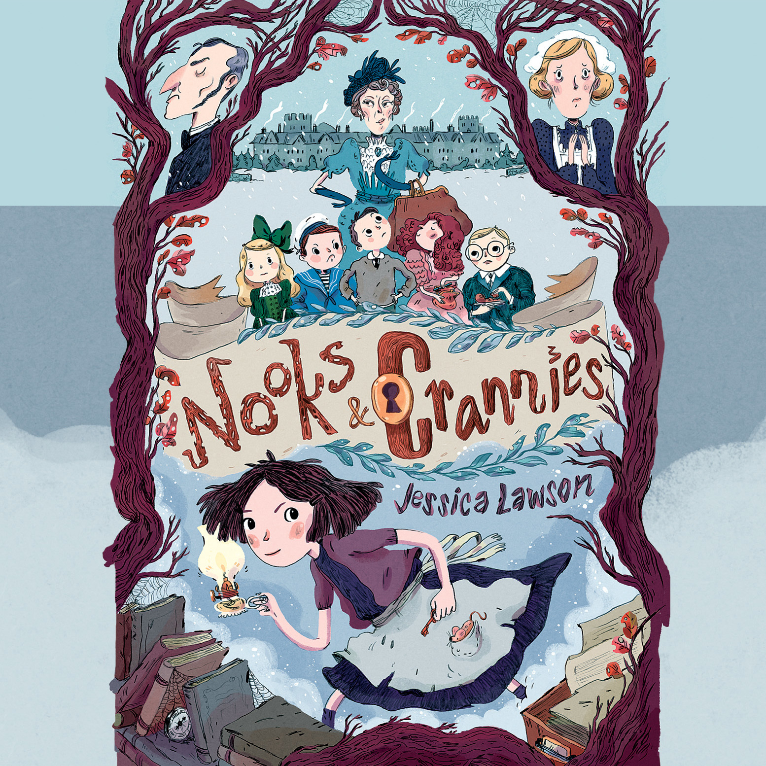 Printable Nooks & Crannies Audiobook Cover Art