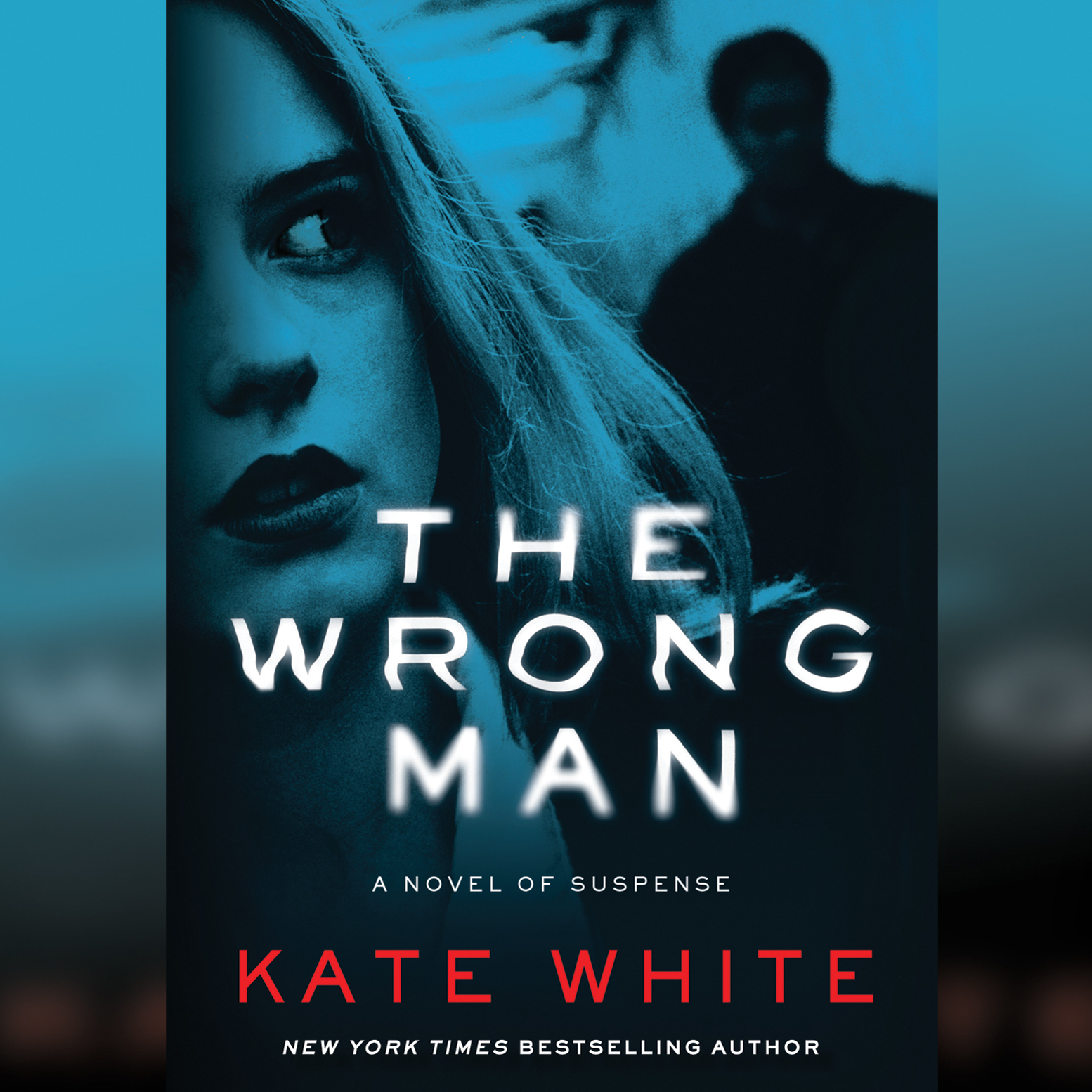 Printable The Wrong Man: A Novel of Suspense Audiobook Cover Art