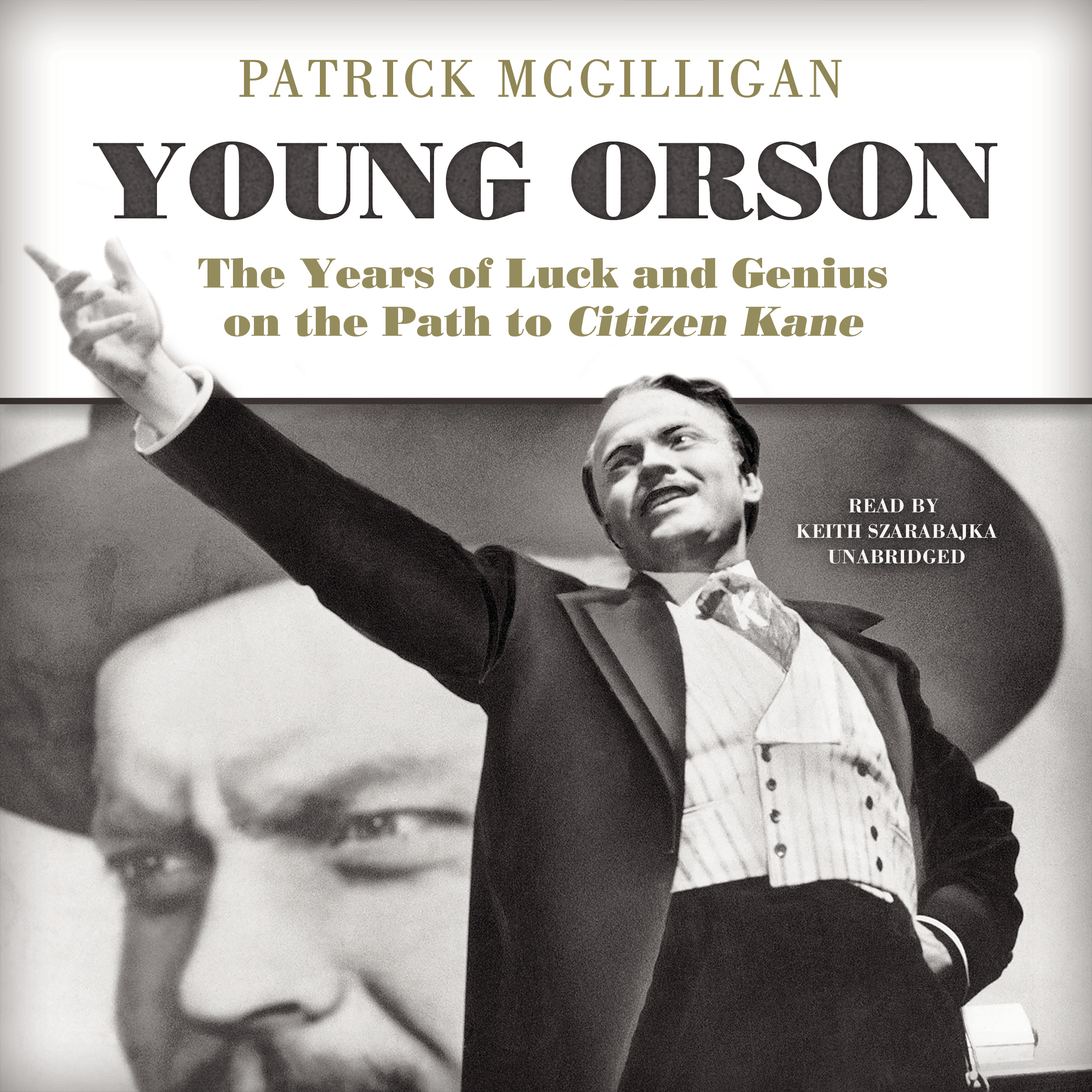 Printable Young Orson: The Years of Luck and Genius on the Path to Citizen Kane Audiobook Cover Art