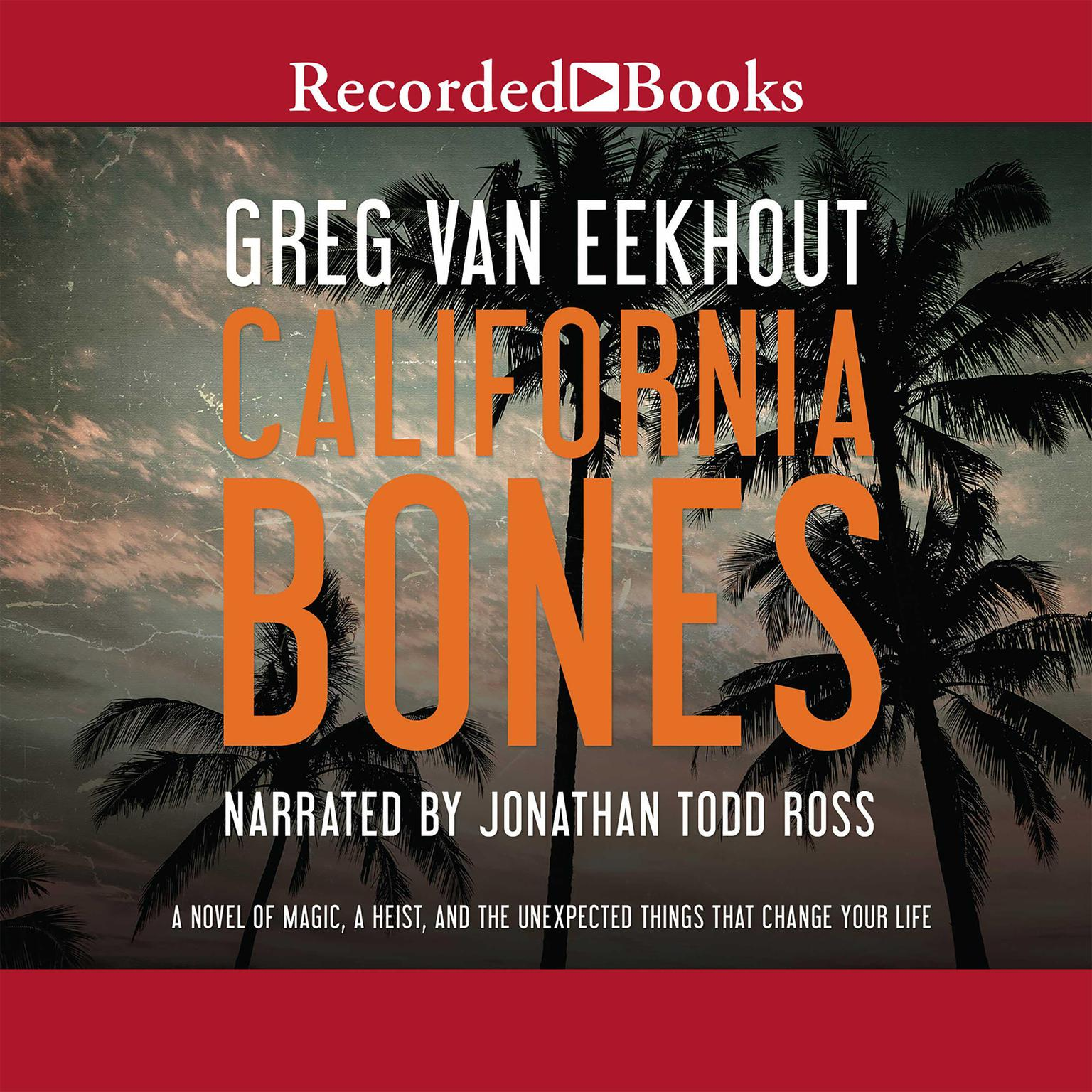Printable California Bones Audiobook Cover Art
