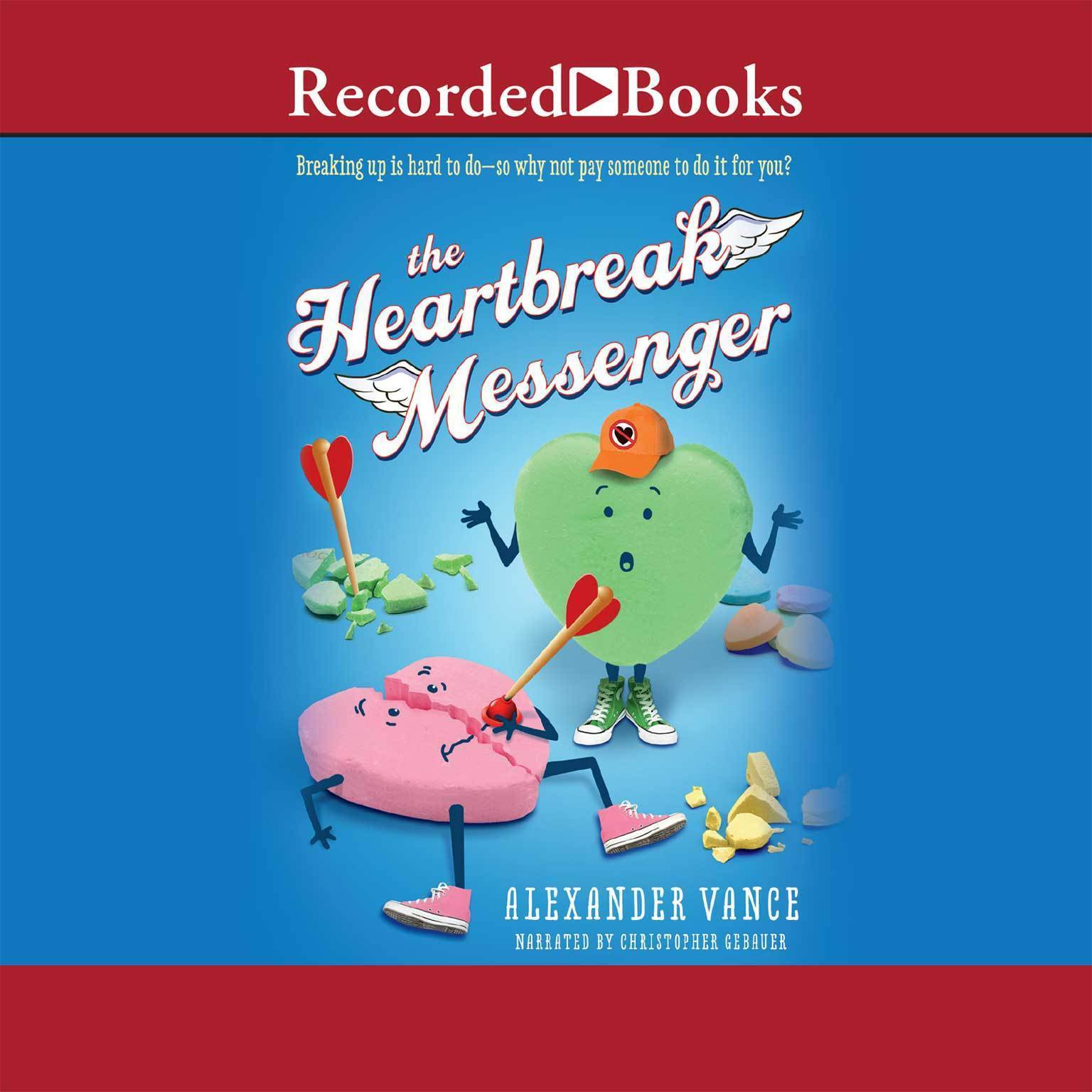 Printable Heartbreak Messenger Audiobook Cover Art