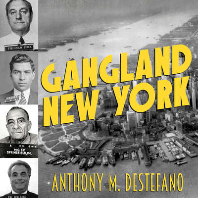 Gangland New York: The Places and Faces of Mob History Audiobook, by Anthony M. DeStefano