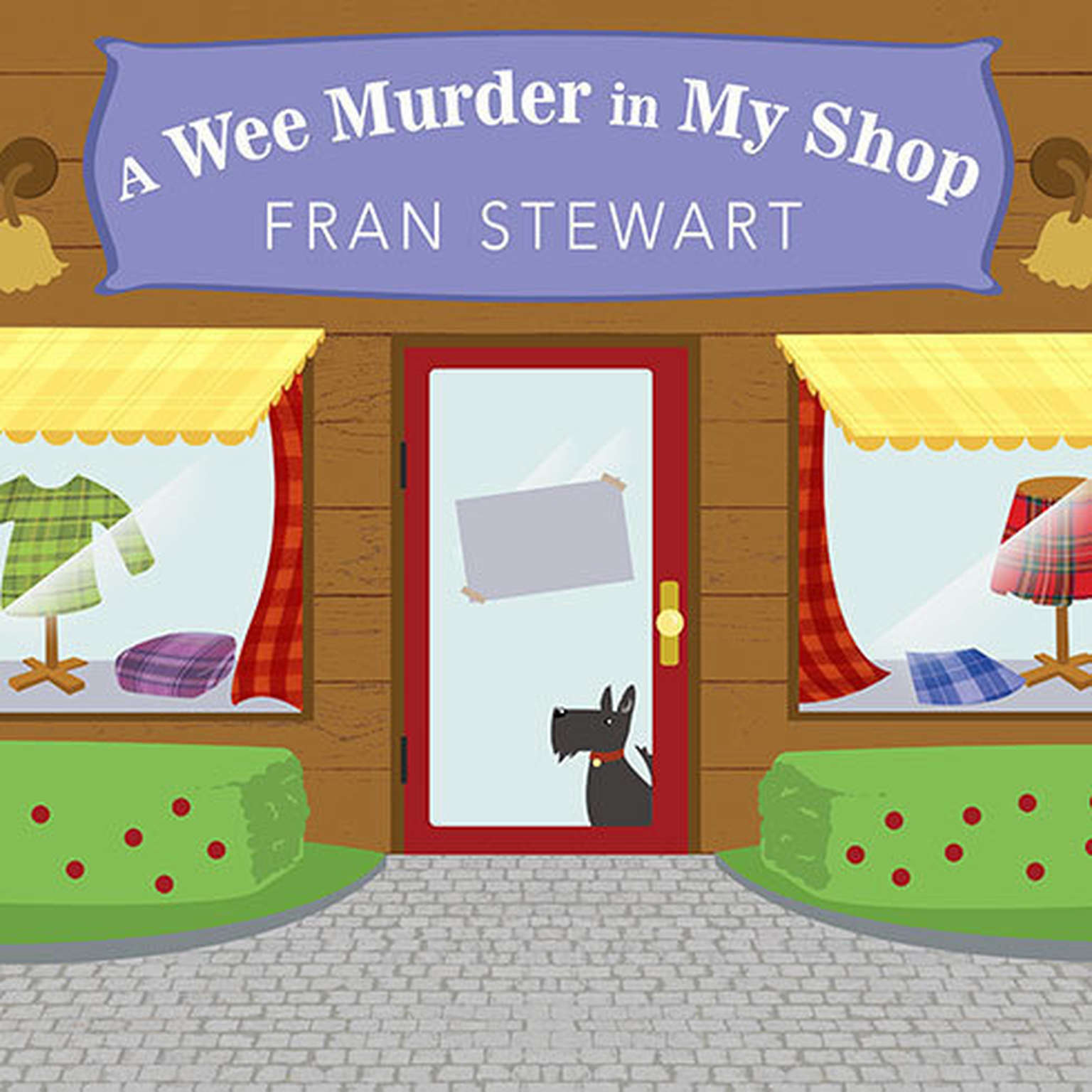 Printable A Wee Murder in My Shop Audiobook Cover Art