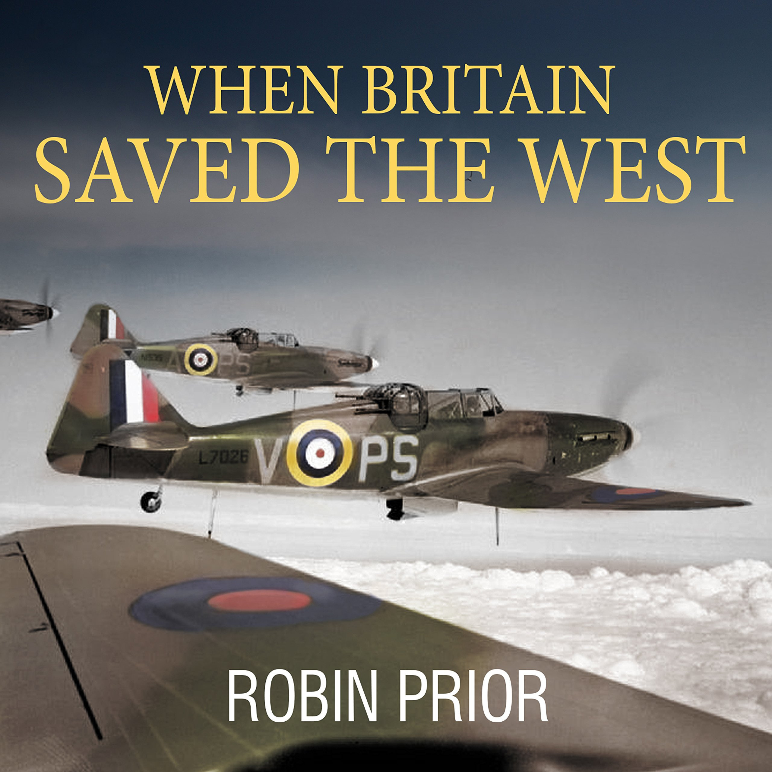 Printable When Britain Saved the West: The Story of 1940 Audiobook Cover Art