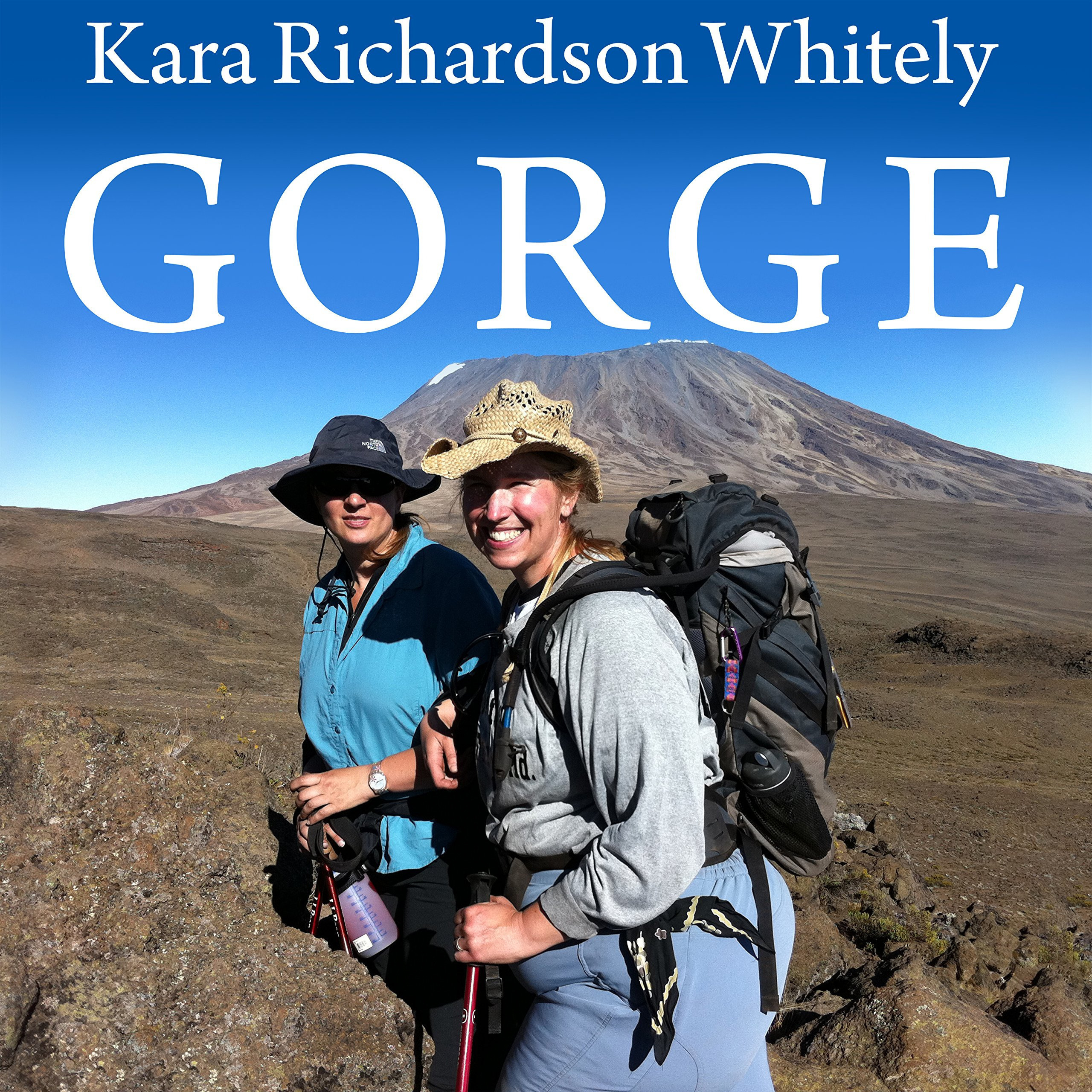 Printable Gorge: My Journey up Kilimanjaro at 300 Pounds Audiobook Cover Art