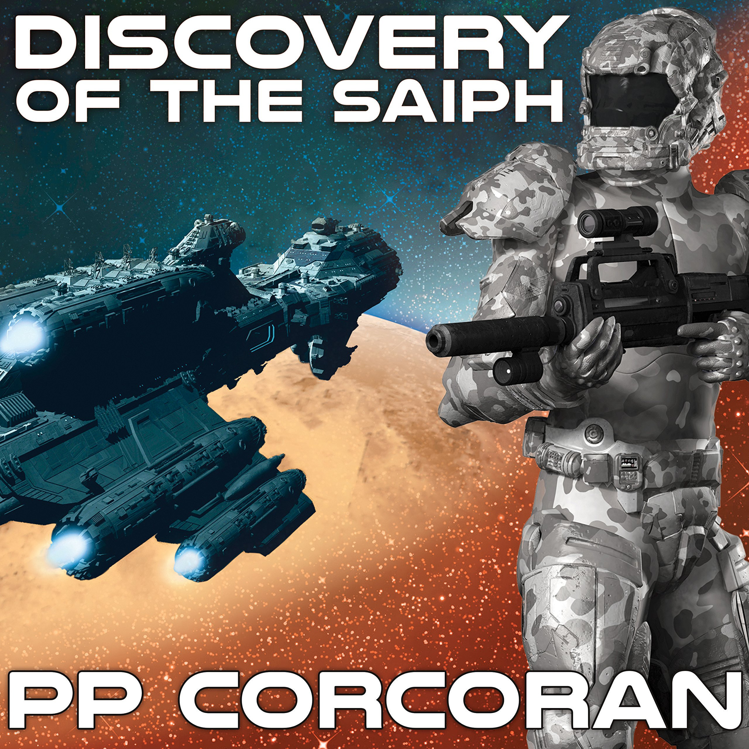 Printable Discovery of the Saiph Audiobook Cover Art