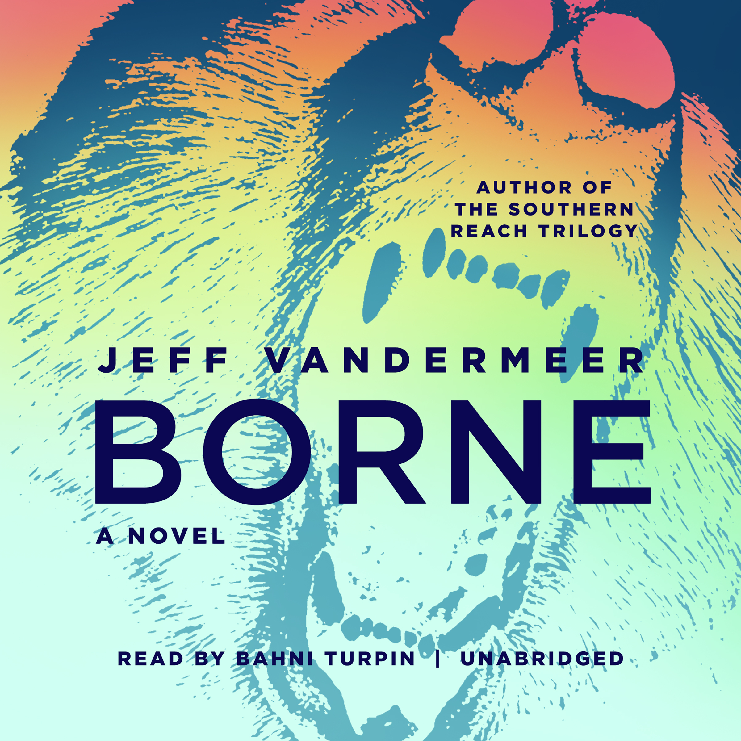Printable Borne Audiobook Cover Art