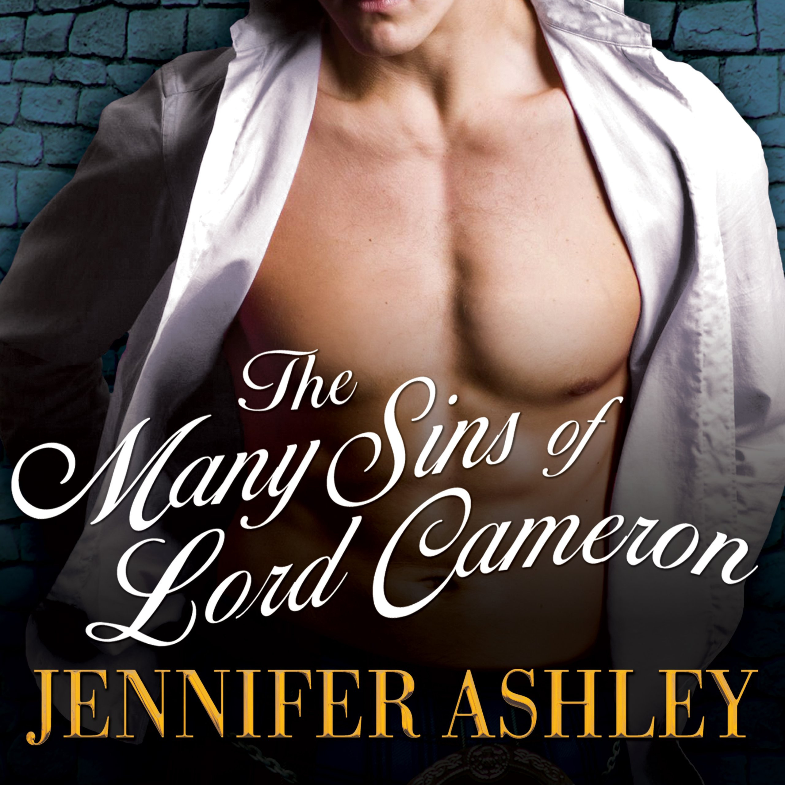 Printable The Many Sins of Lord Cameron Audiobook Cover Art