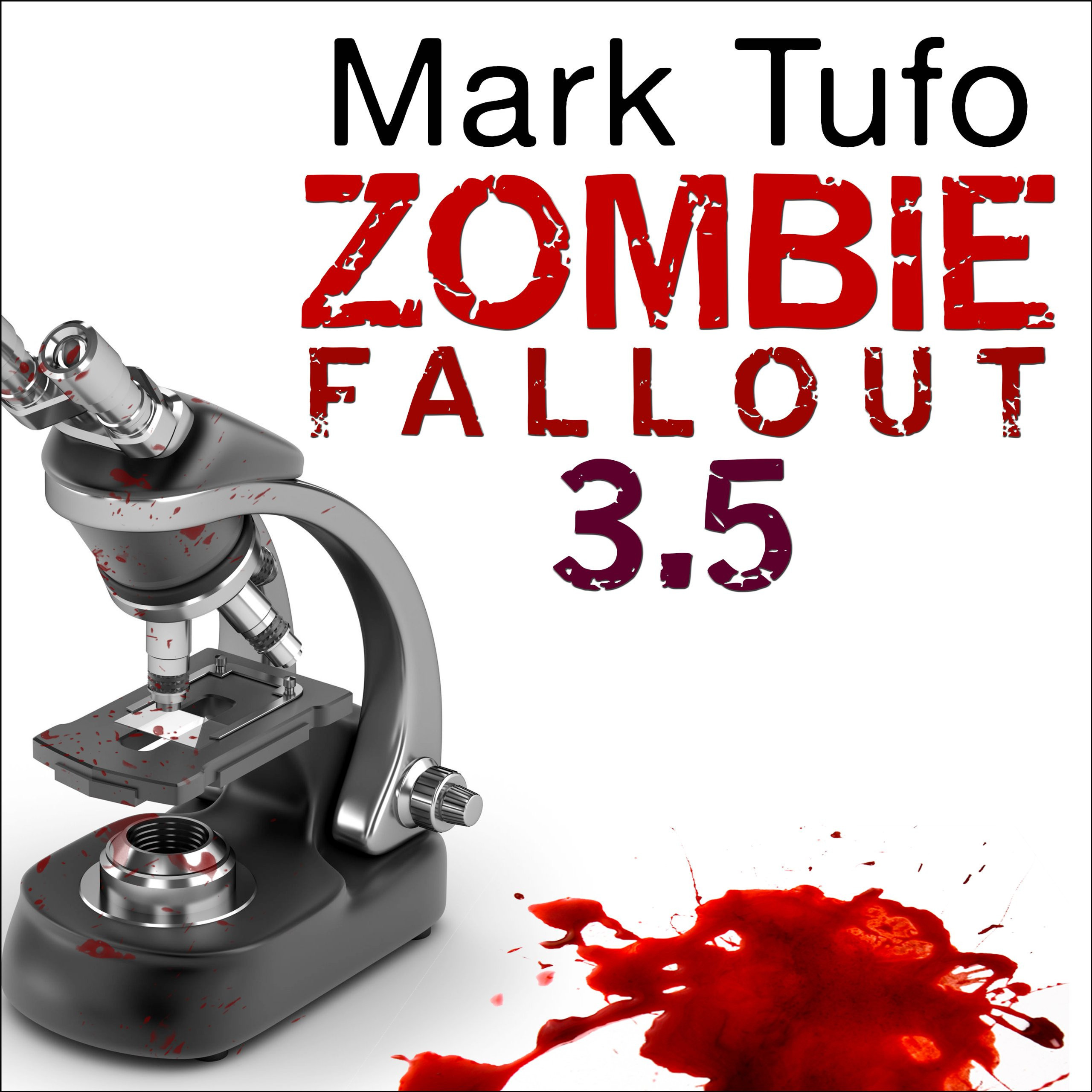 Printable Zombie Fallout 3.5: Dr. Hugh Mann Audiobook Cover Art