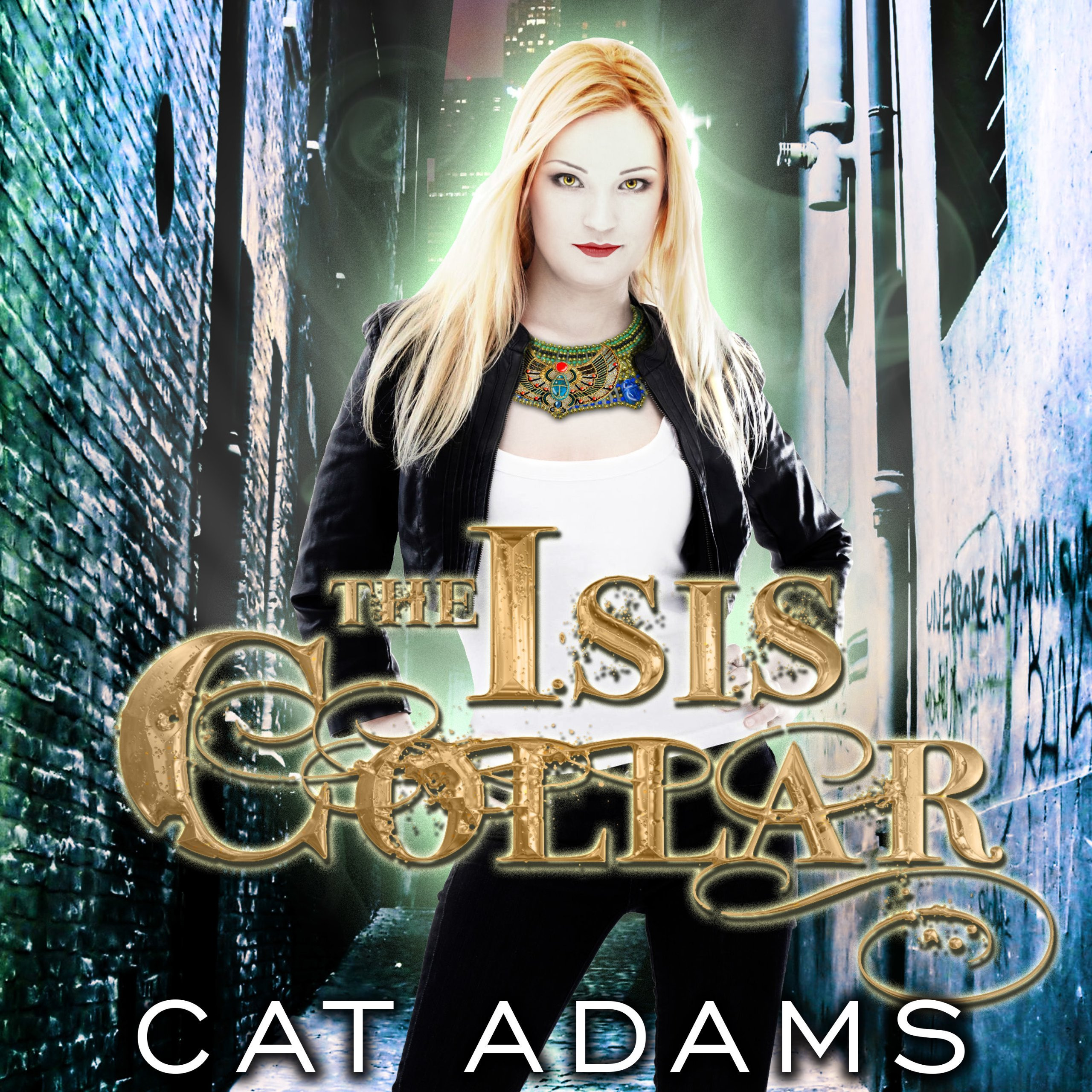 Printable The Isis Collar Audiobook Cover Art