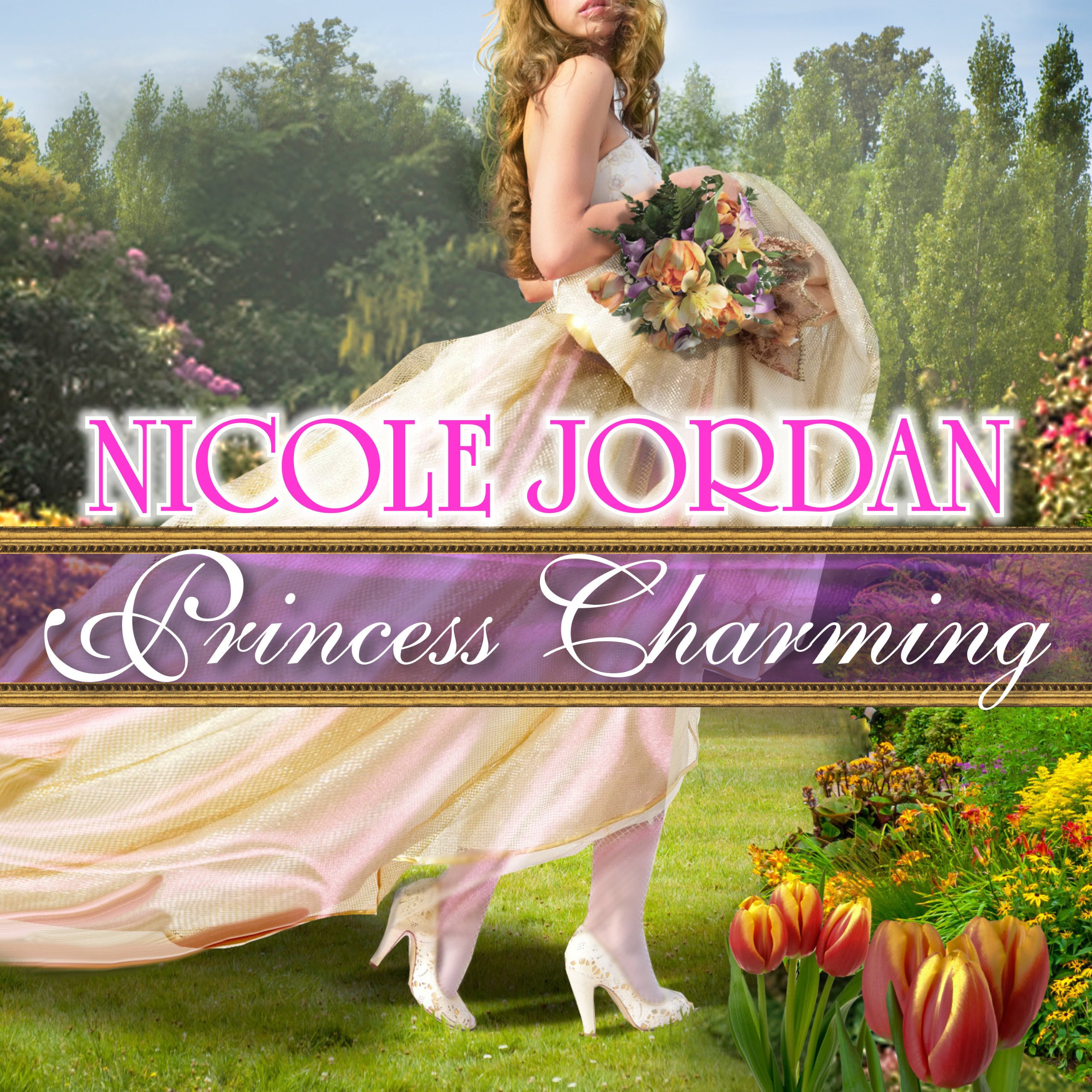 Printable Princess Charming Audiobook Cover Art