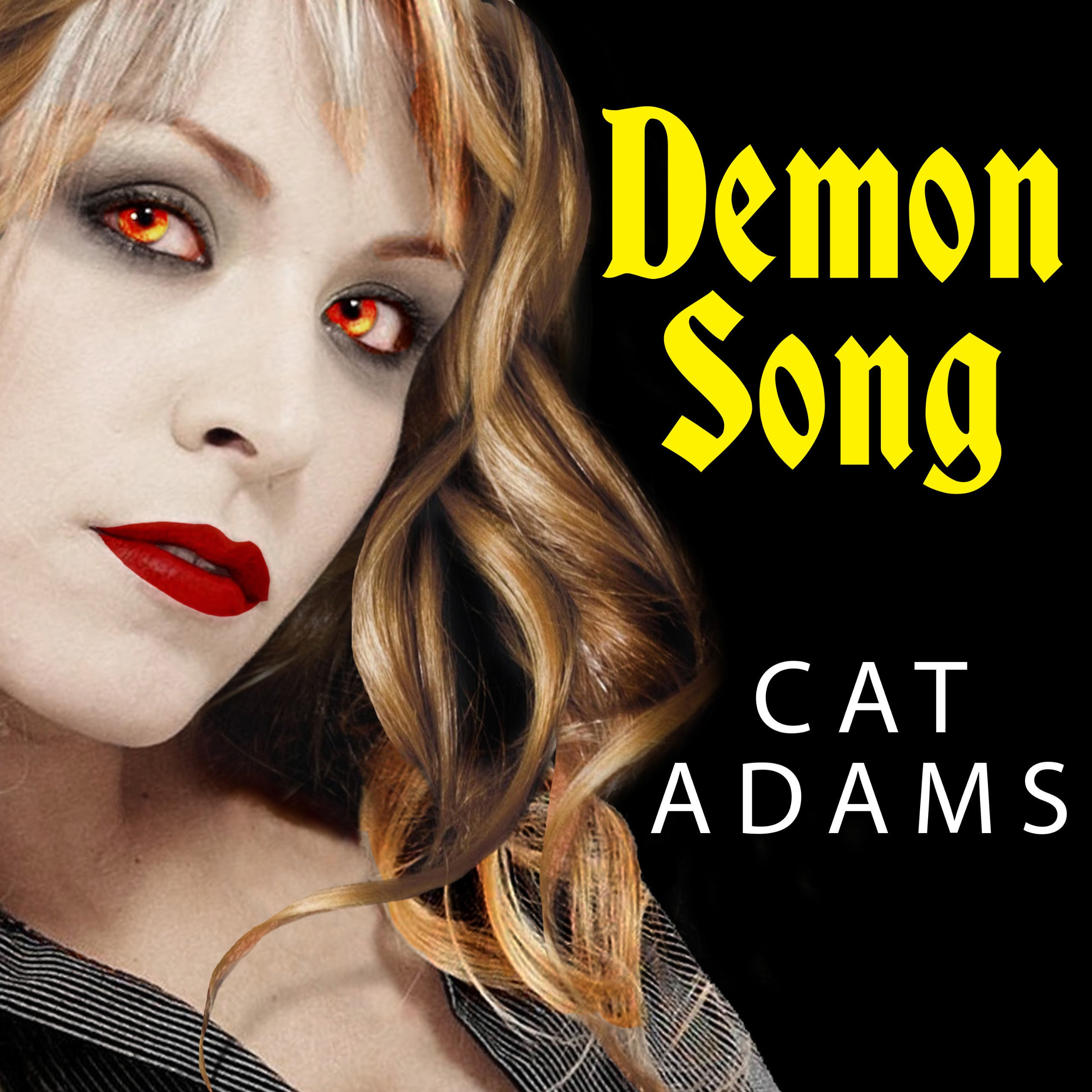 Printable Demon Song Audiobook Cover Art