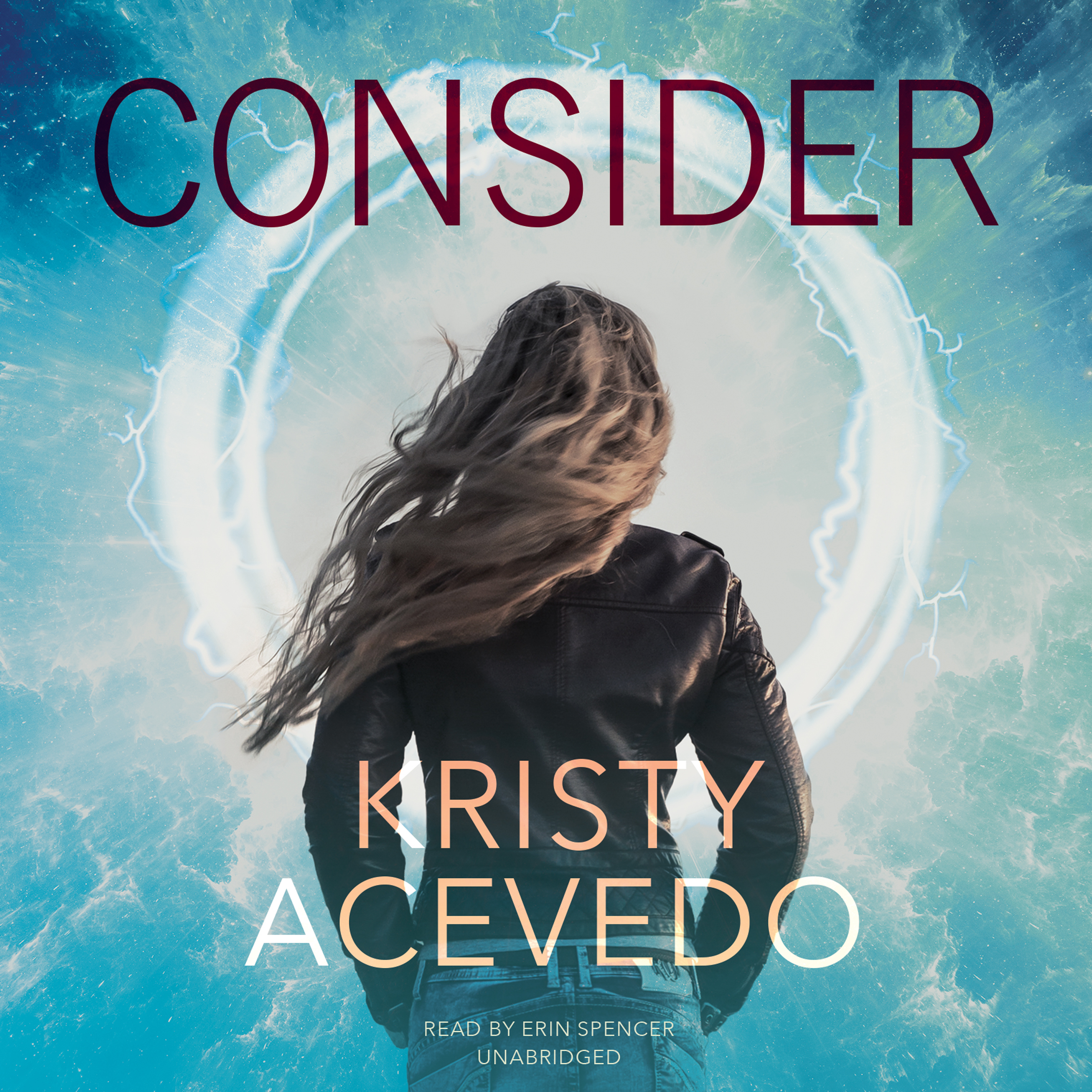 Printable Consider Audiobook Cover Art