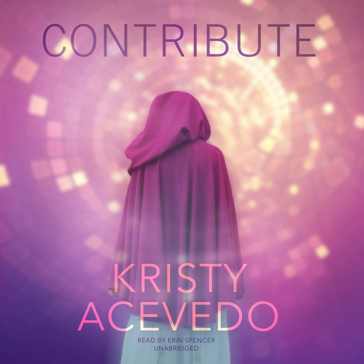 Printable Contribute Audiobook Cover Art