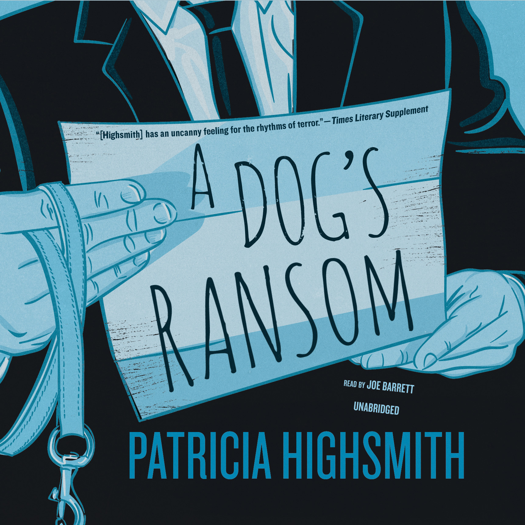 Printable A Dog's Ransom Audiobook Cover Art