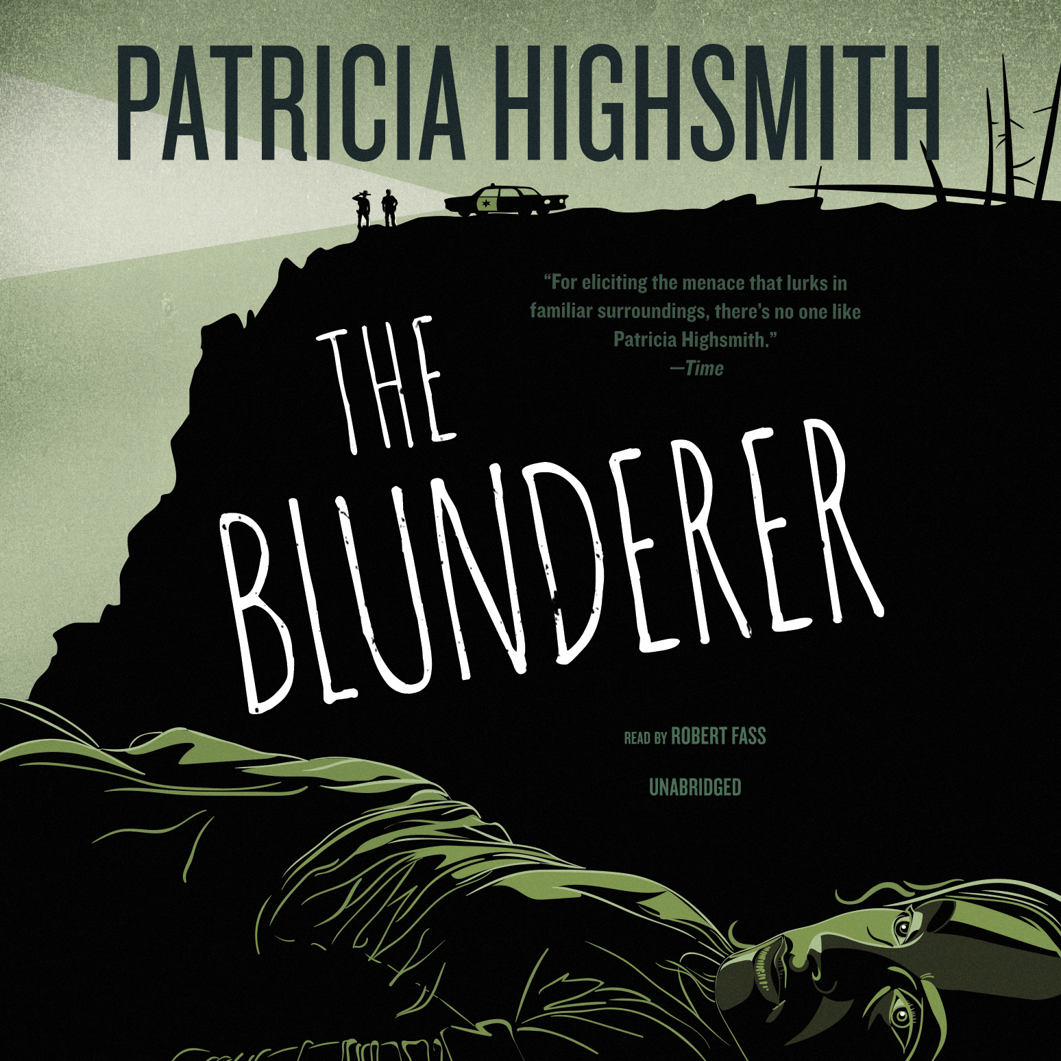 Printable The Blunderer Audiobook Cover Art