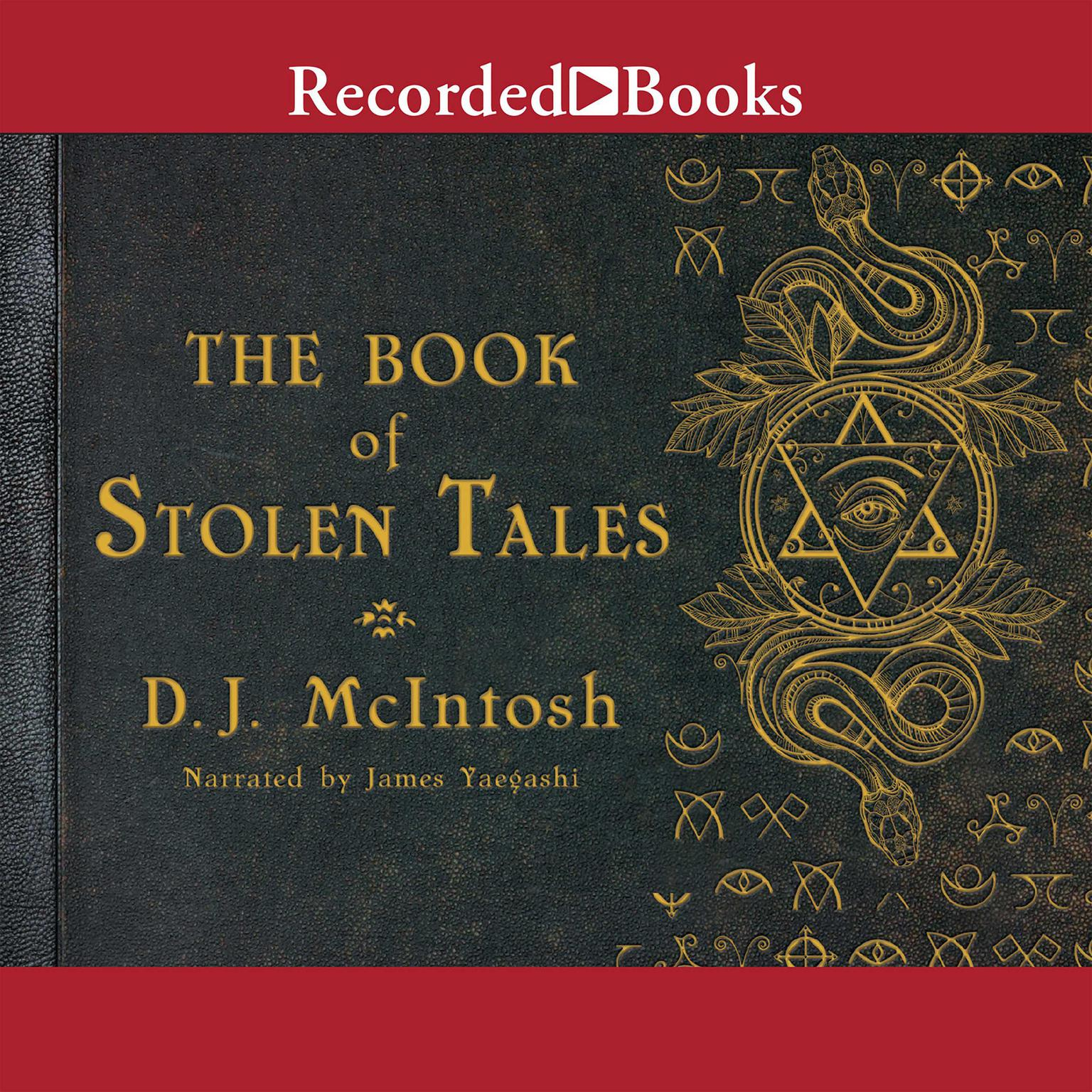 Printable The Book of Stolen Tales Audiobook Cover Art