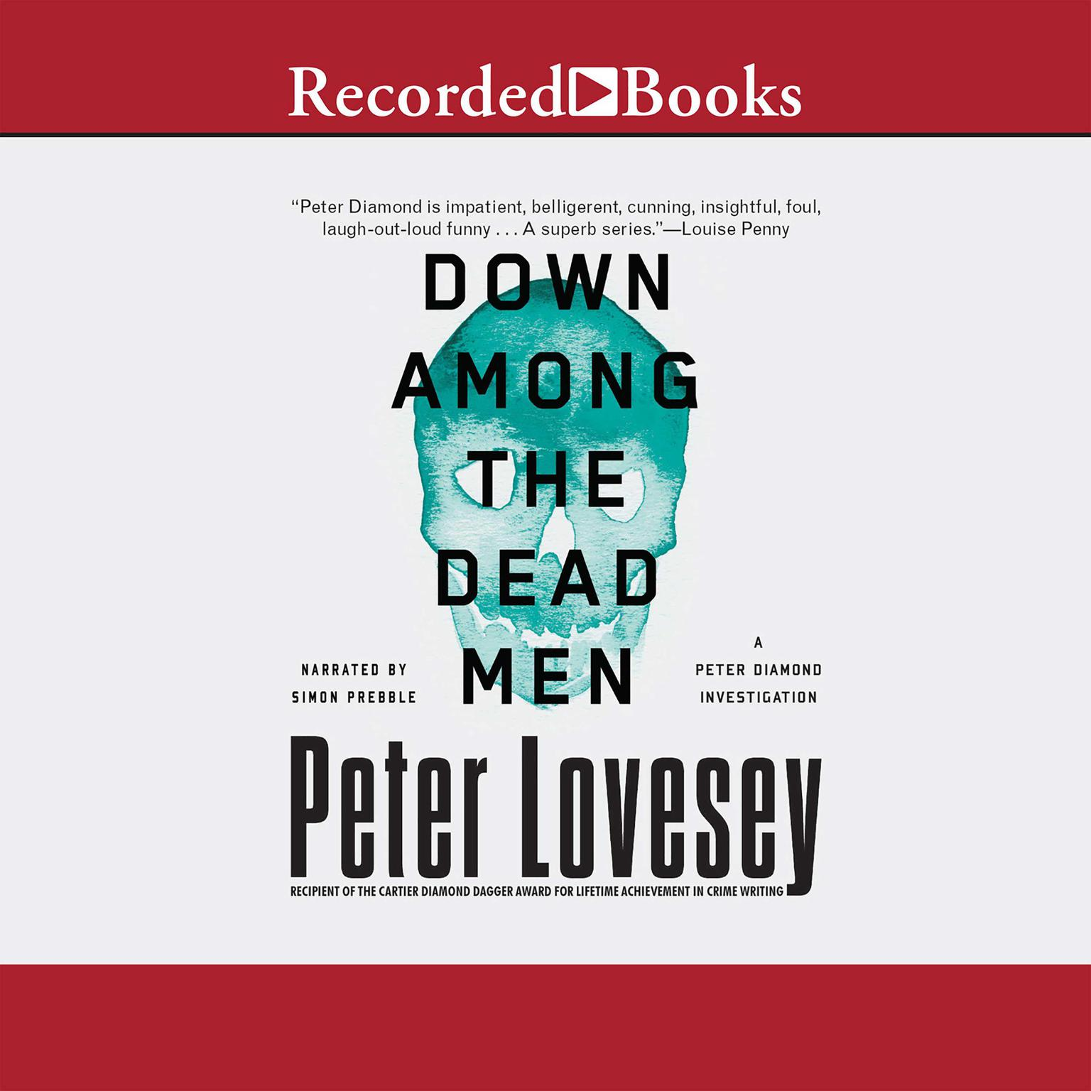 Printable Down among the Dead Men Audiobook Cover Art
