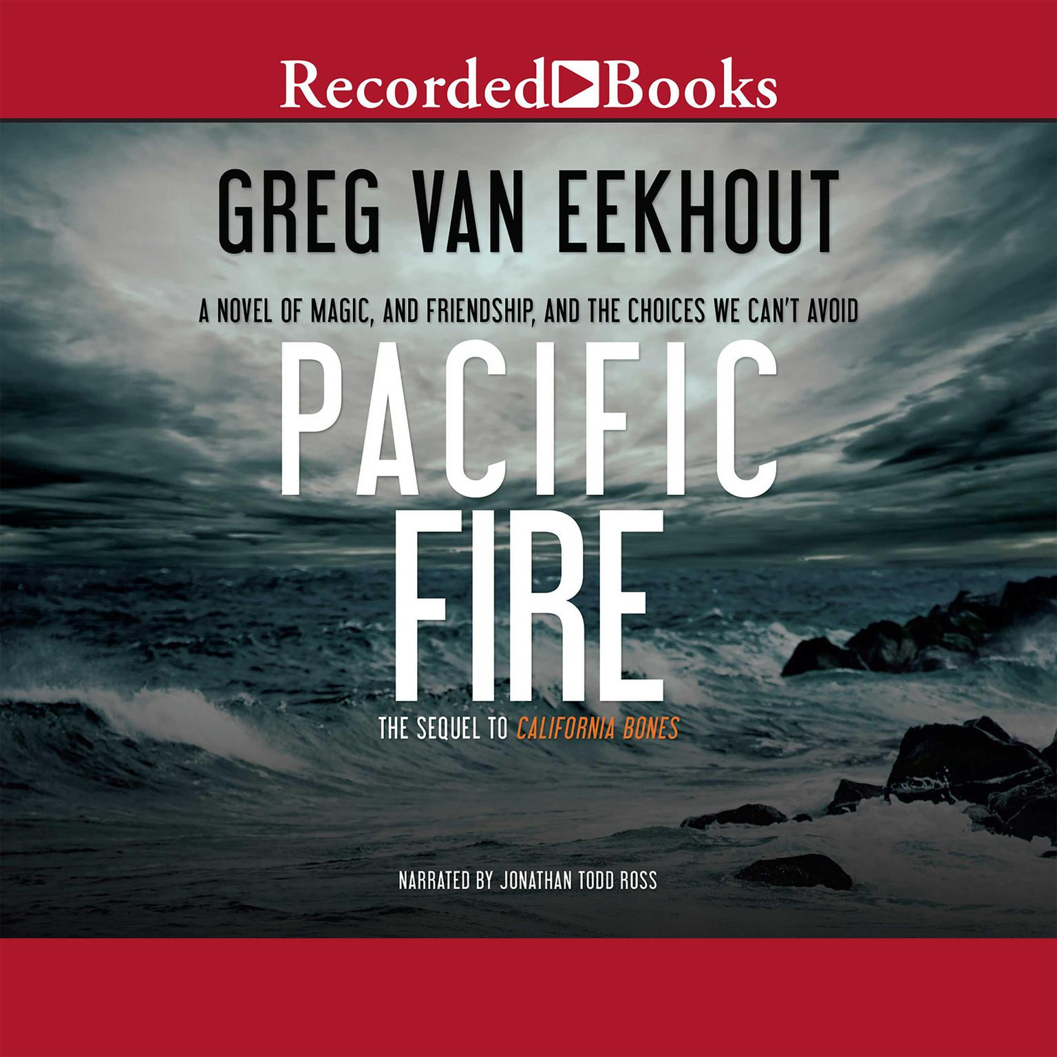 Printable Pacific Fire Audiobook Cover Art