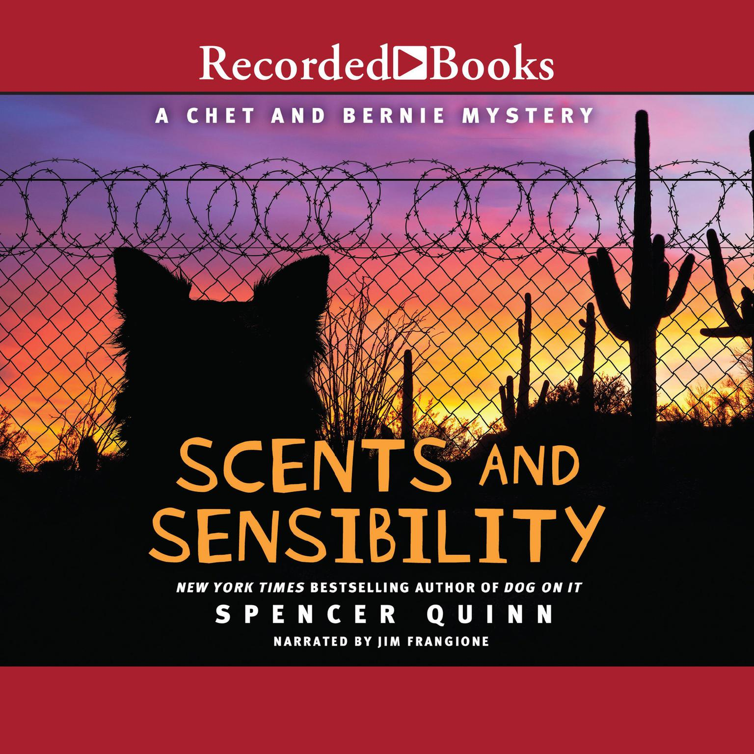 Printable Scents and Sensibility Audiobook Cover Art