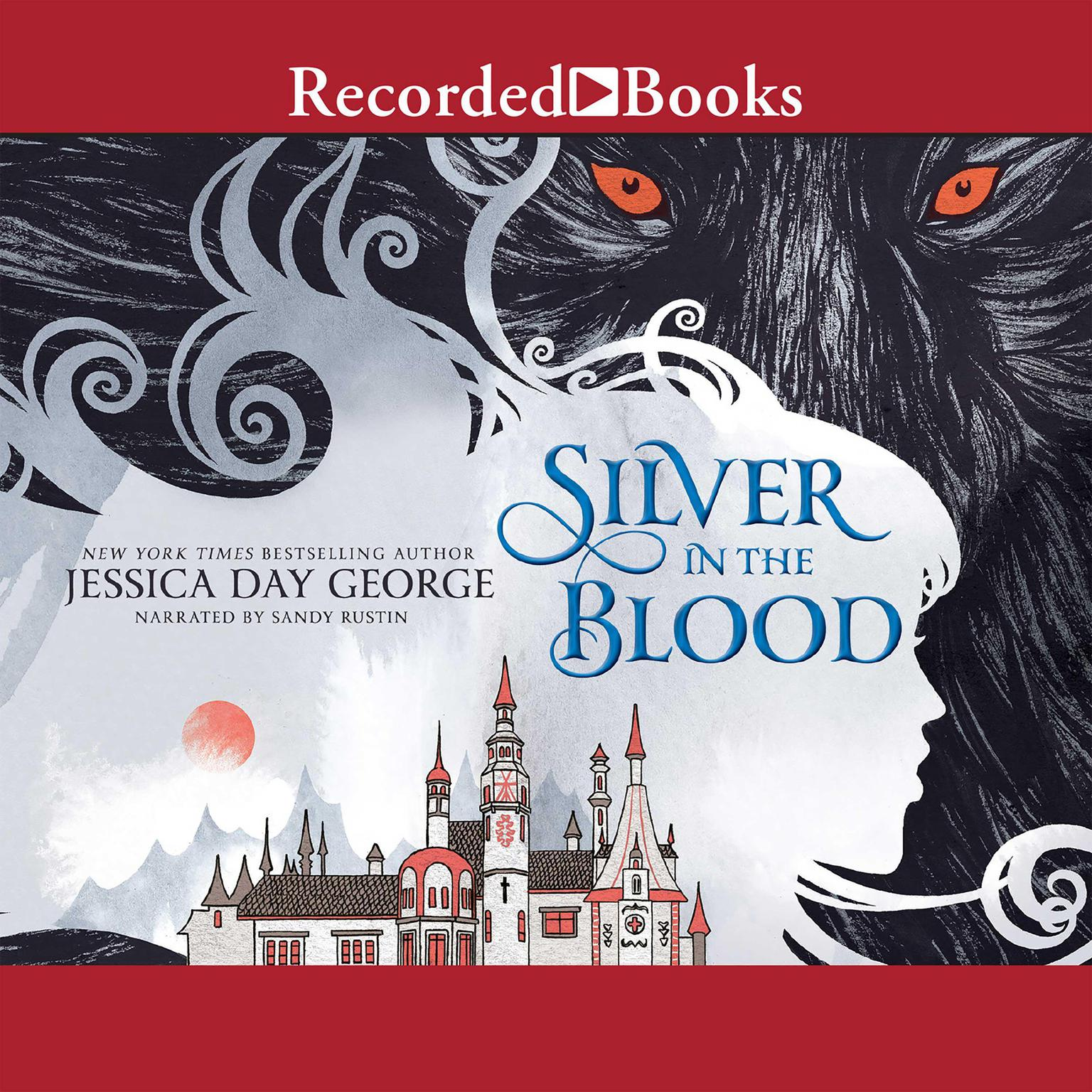 Printable Silver in the Blood Audiobook Cover Art