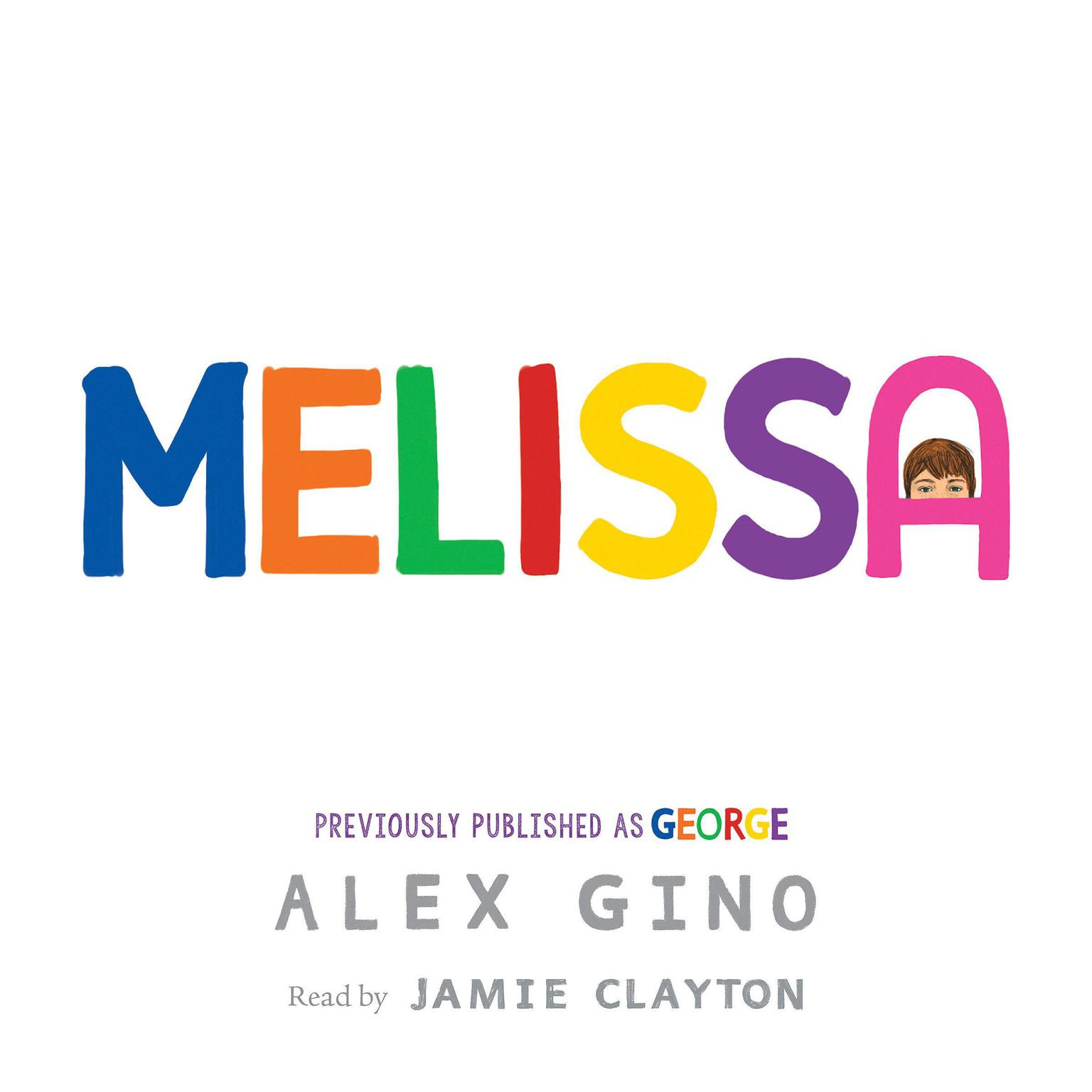 Printable George Audiobook Cover Art