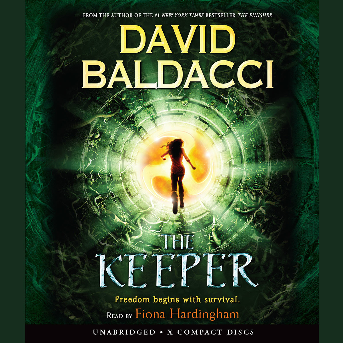 Printable The Keeper Audiobook Cover Art