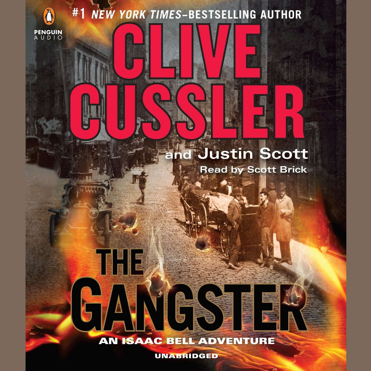 Printable The Gangster Audiobook Cover Art