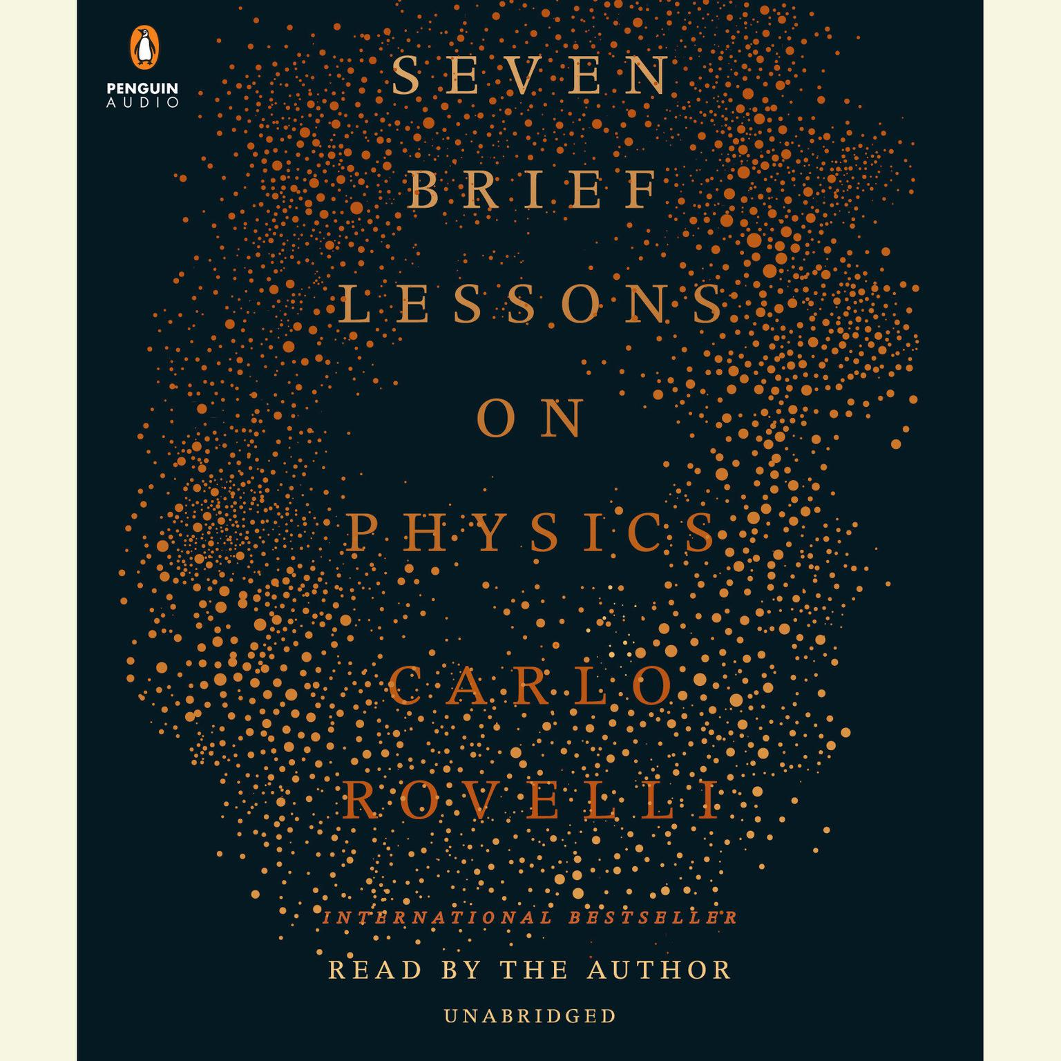 Printable Seven Brief Lessons on Physics Audiobook Cover Art