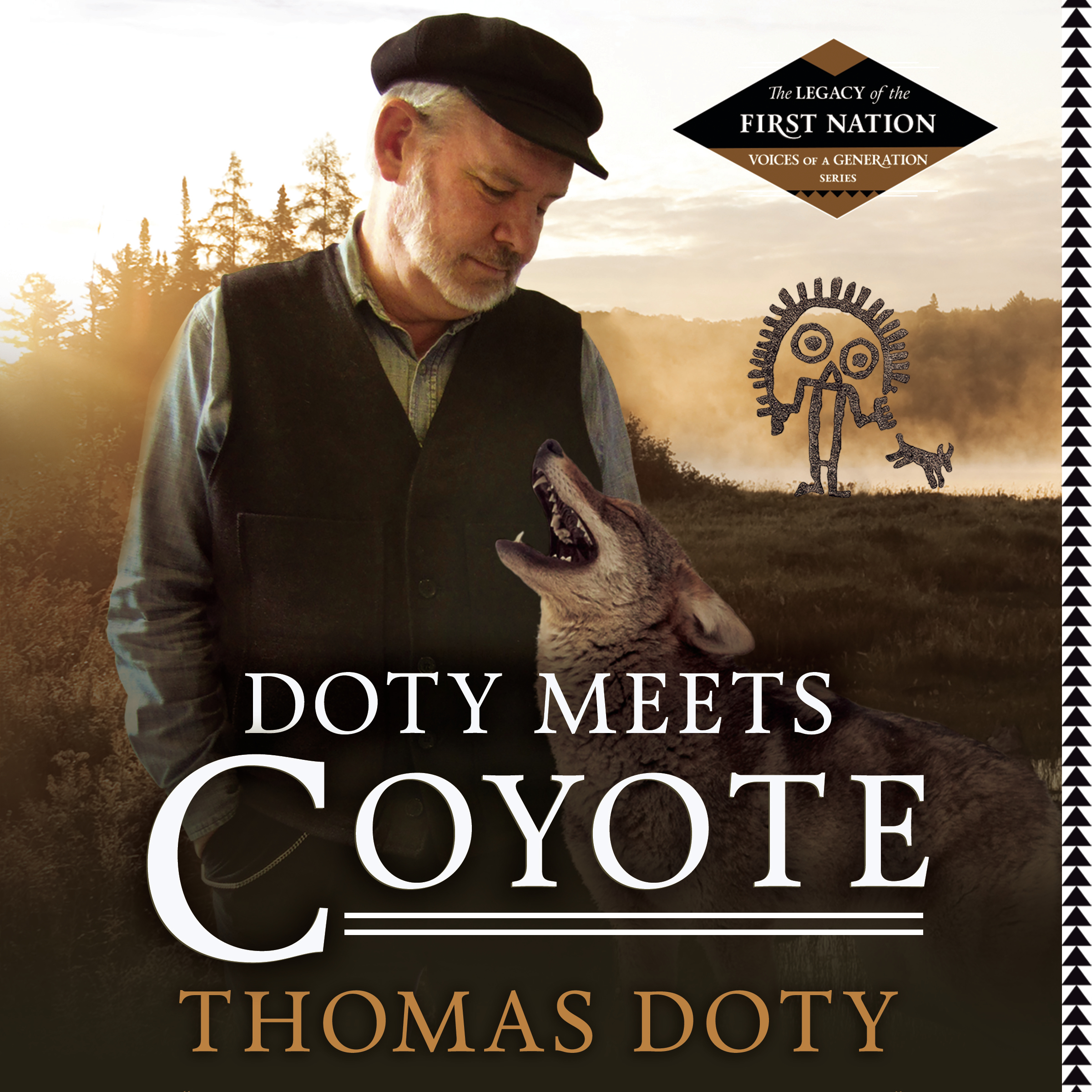 Printable Doty Meets Coyote Audiobook Cover Art