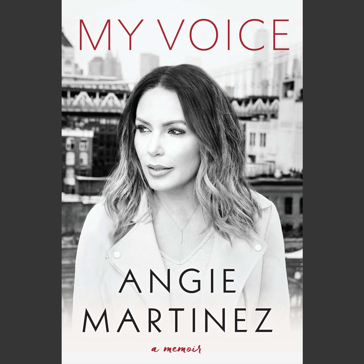 Printable My Voice: A Memoir Audiobook Cover Art