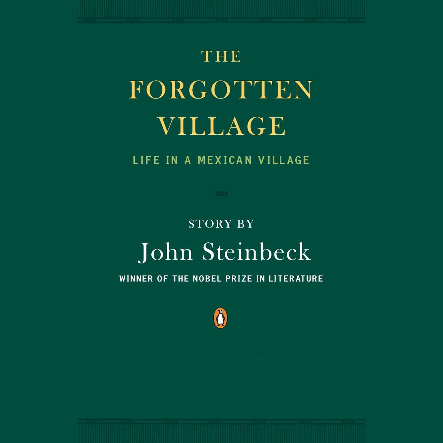 Printable The Forgotten Village: Life in a Mexican Village Audiobook Cover Art