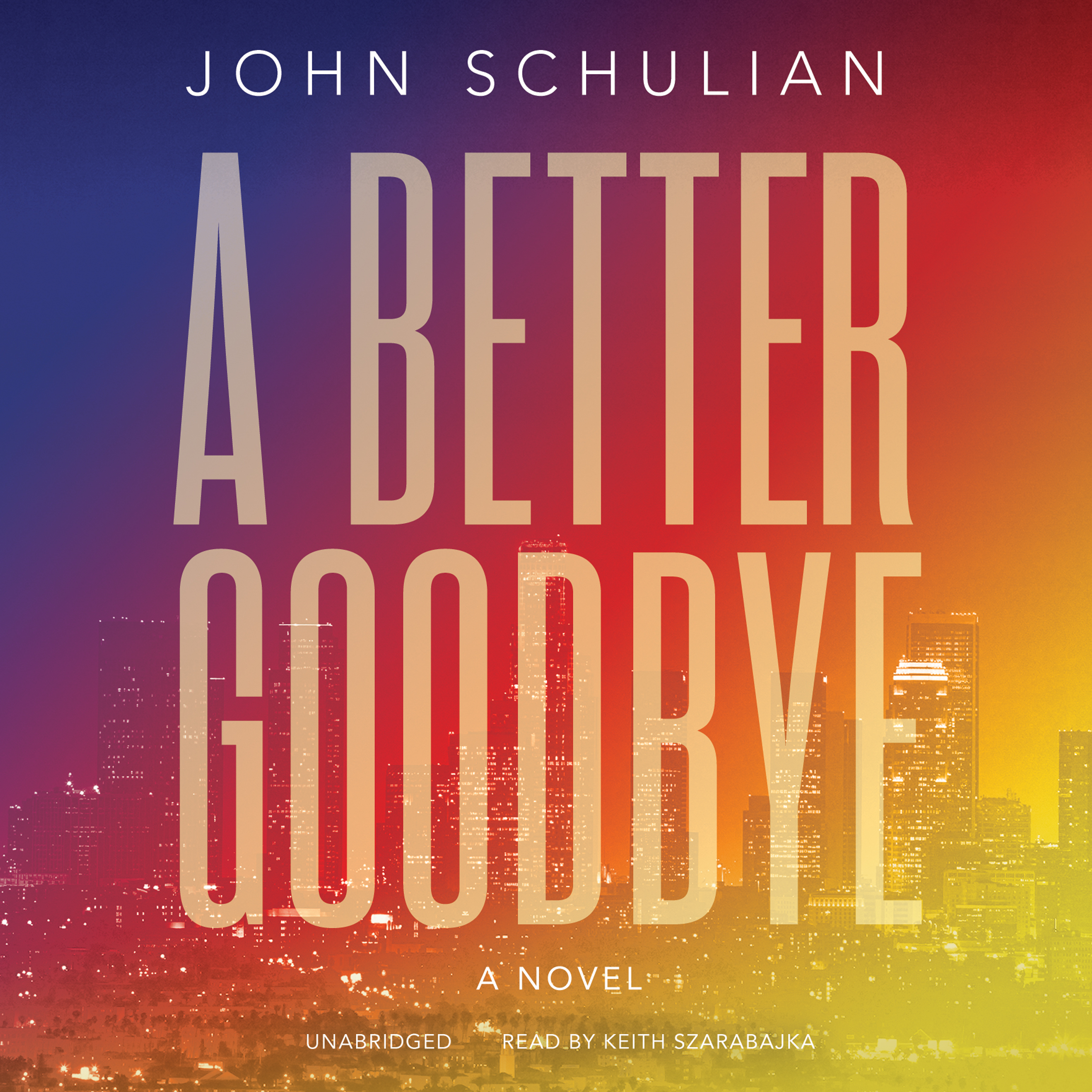Printable A Better Goodbye: A Novel Audiobook Cover Art