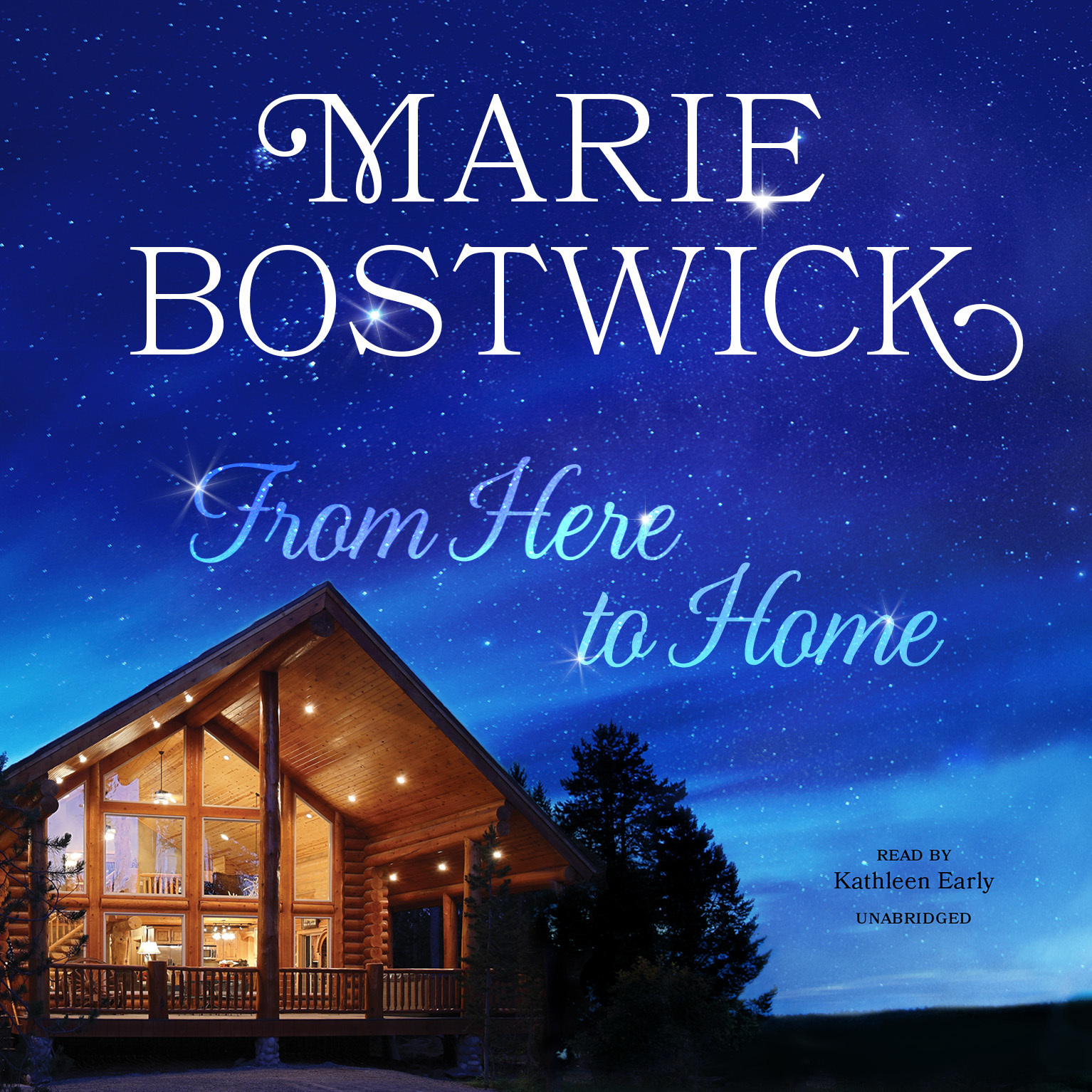 Printable From Here to Home Audiobook Cover Art
