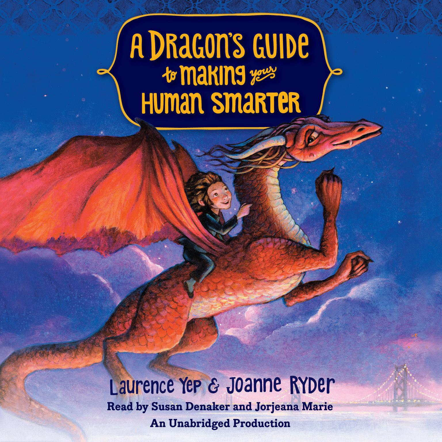 Printable A Dragon's Guide to Making Your Human Smarter Audiobook Cover Art