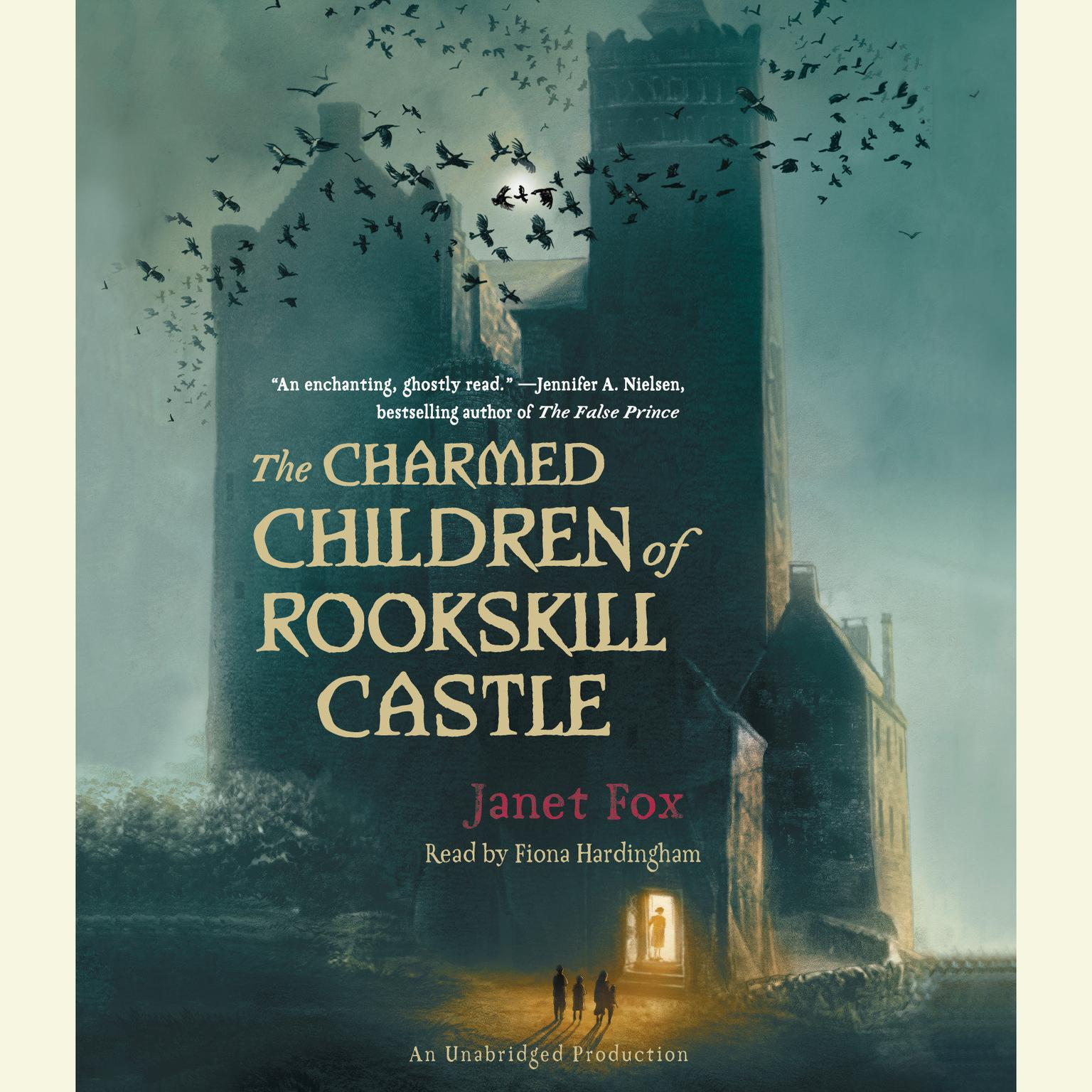Printable The Charmed Children of Rookskill Castle Audiobook Cover Art