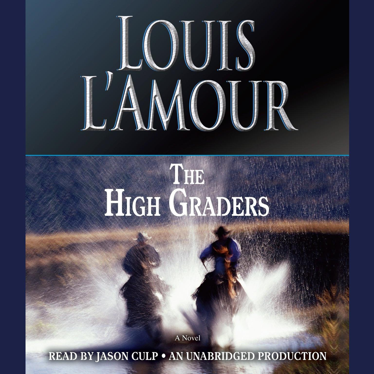 Printable The High Graders Audiobook Cover Art